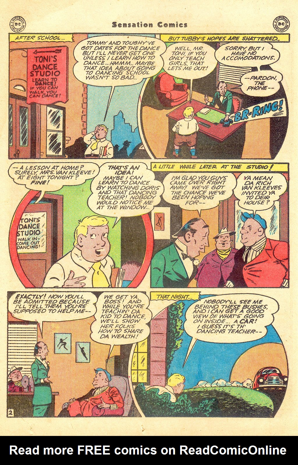 Read online Sensation (Mystery) Comics comic -  Issue #57 - 18
