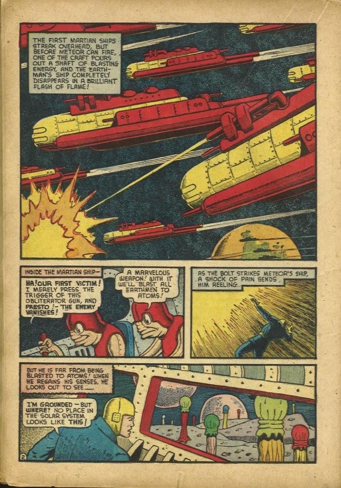 Read online Amazing Man Comics comic -  Issue #25 - 40