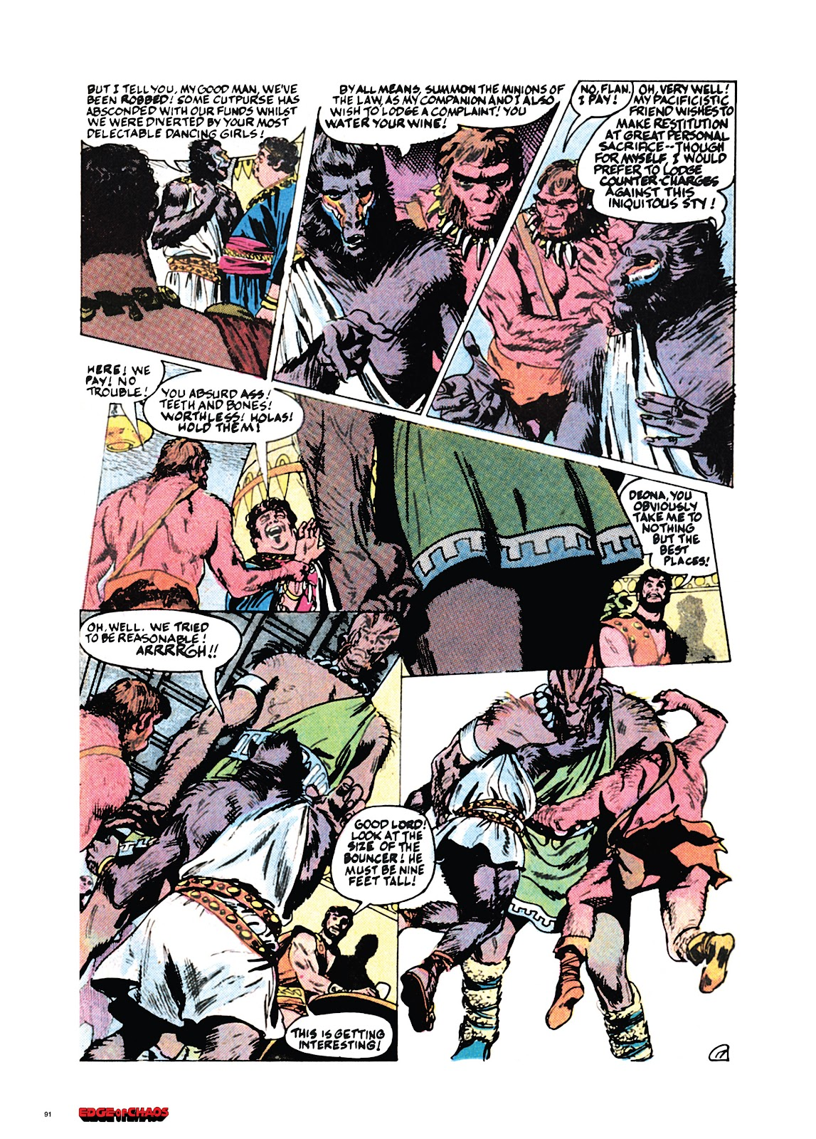 Read online Orion and Edge of Chaos comic -  Issue # TPB - 92