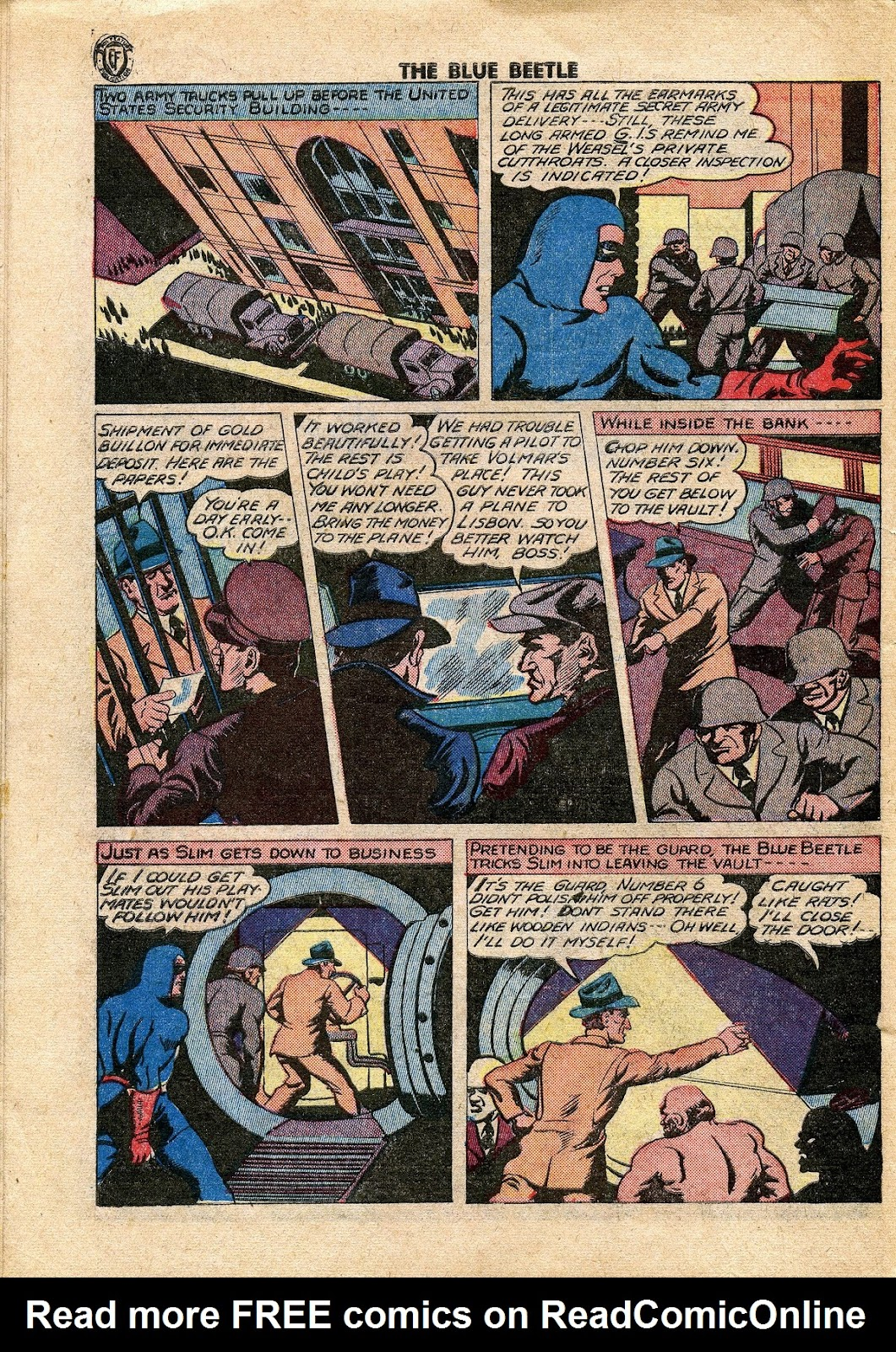 The Blue Beetle issue 34 - Page 41