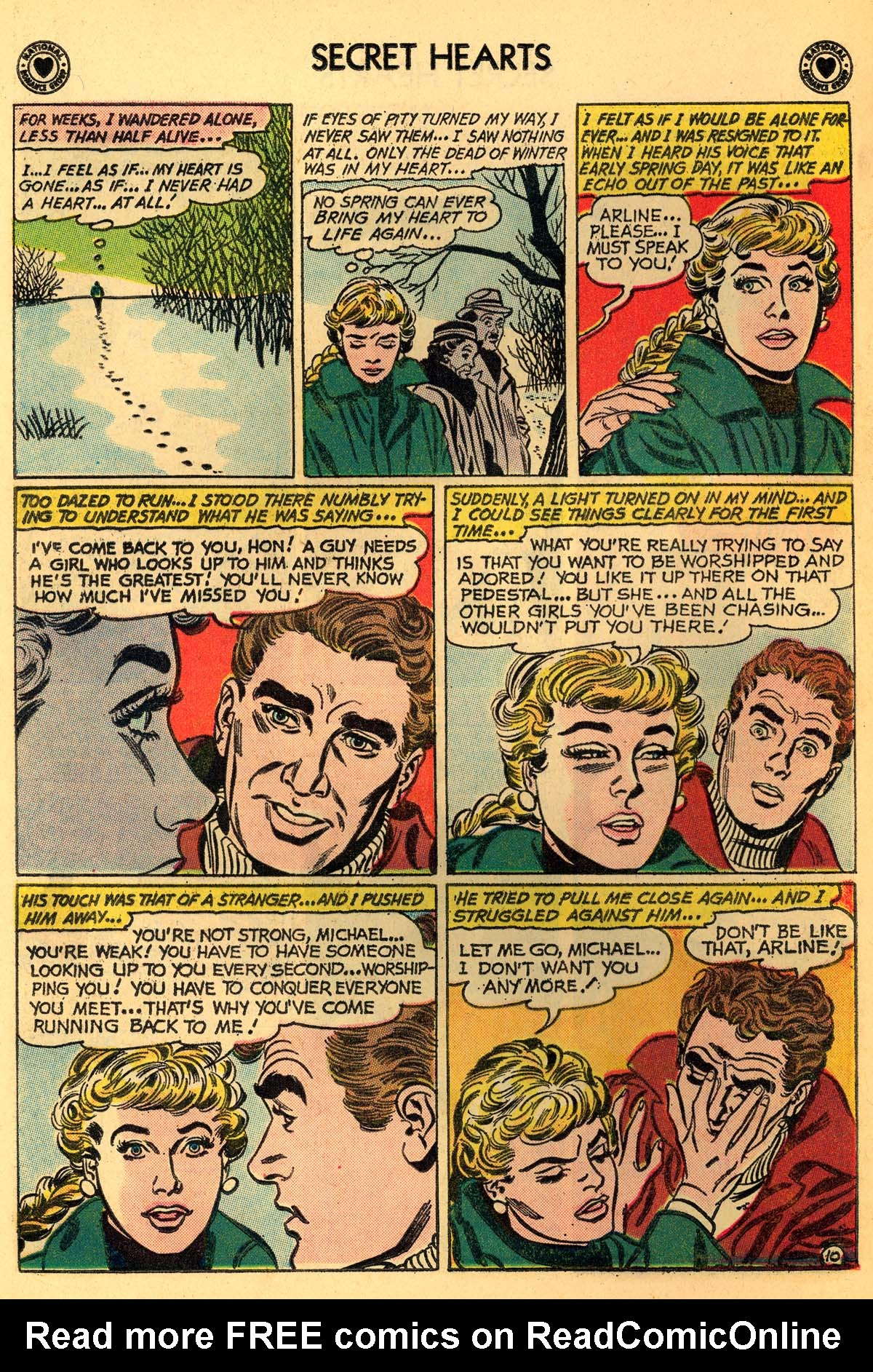 Read online Secret Hearts comic -  Issue #66 - 12