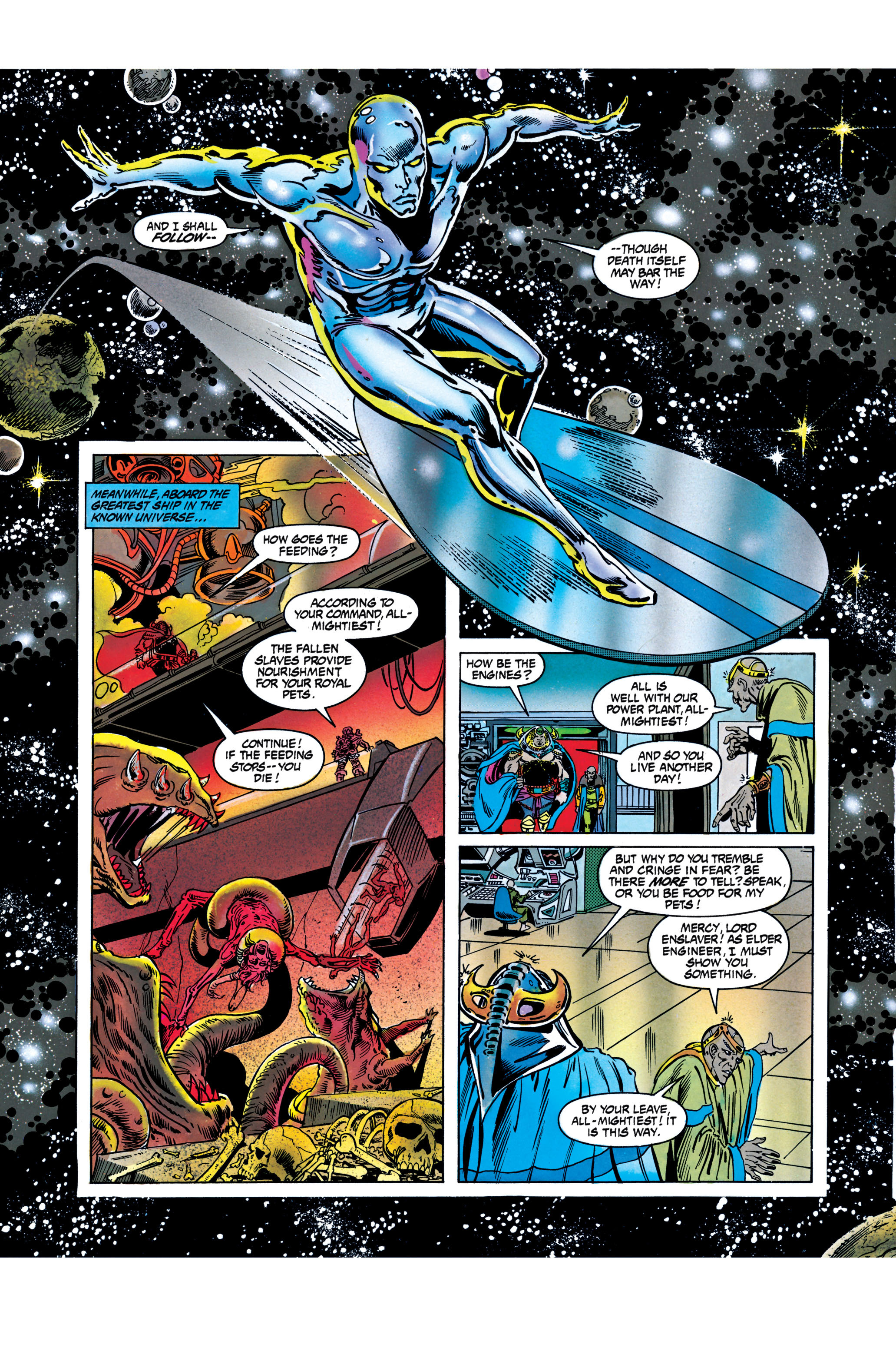 Read online Silver Surfer: Parable comic -  Issue # TPB - 85