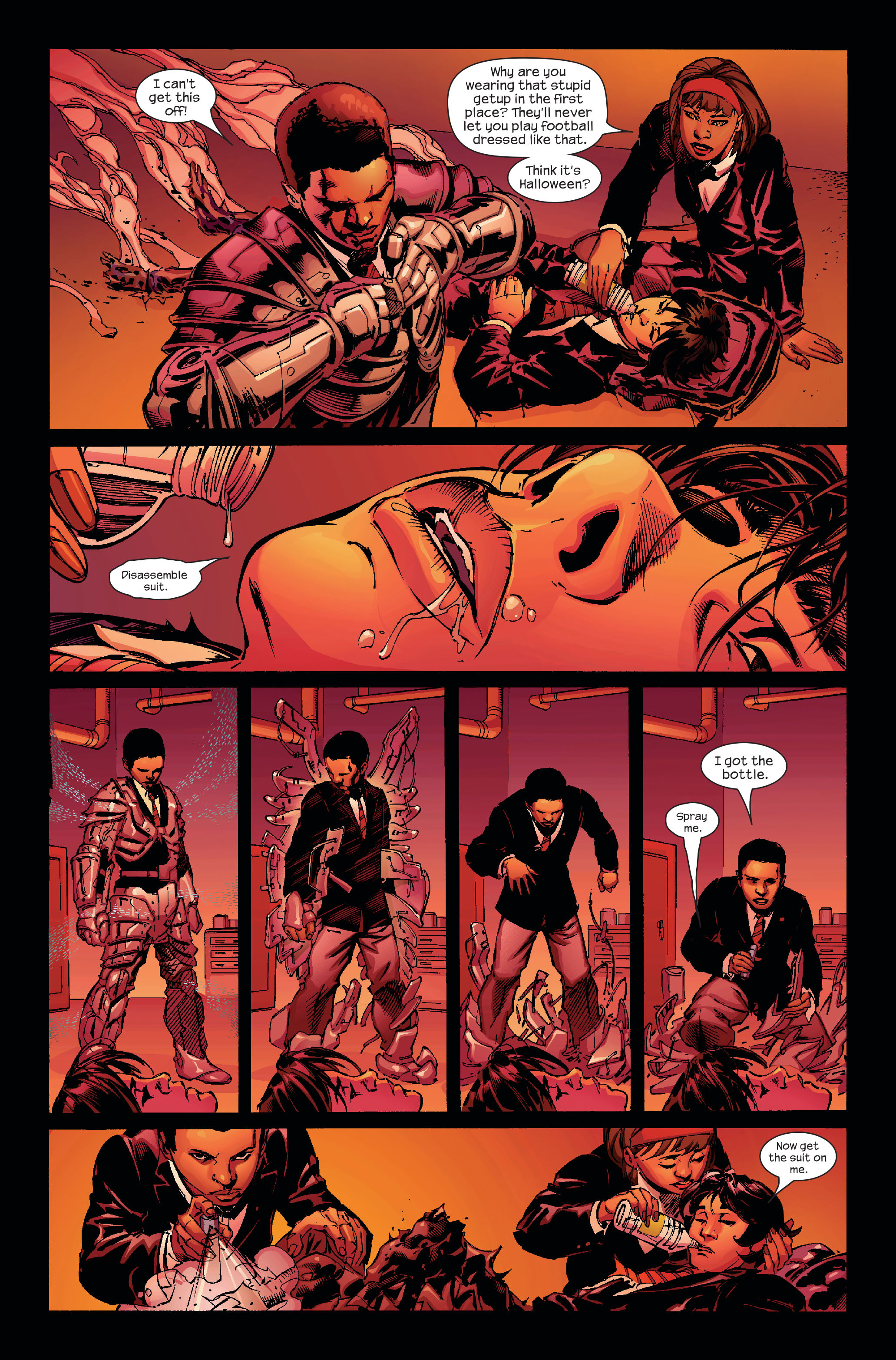 Read online Ultimate Iron Man (2005) comic -  Issue #4 - 9
