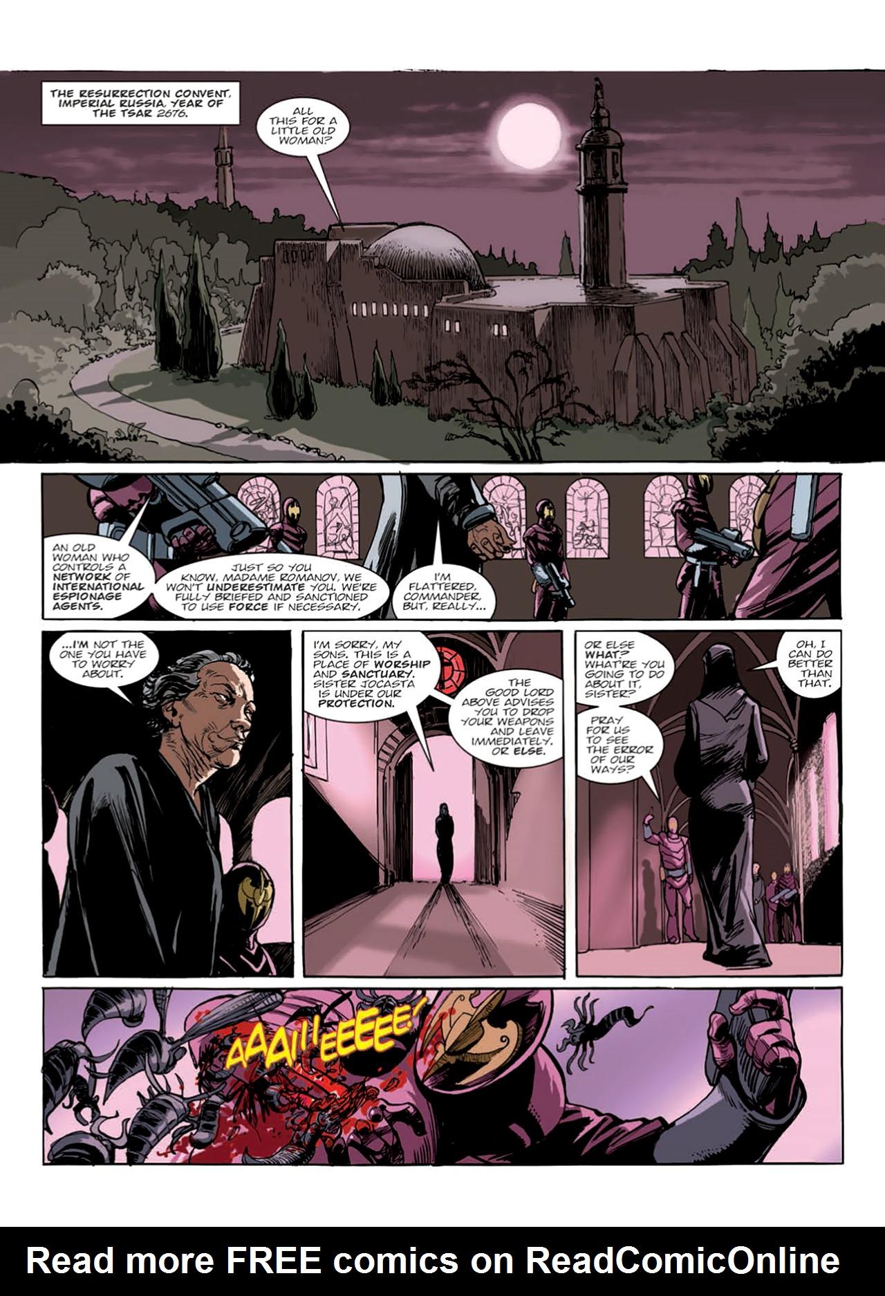 Read online Nikolai Dante comic -  Issue # TPB 9 - 127