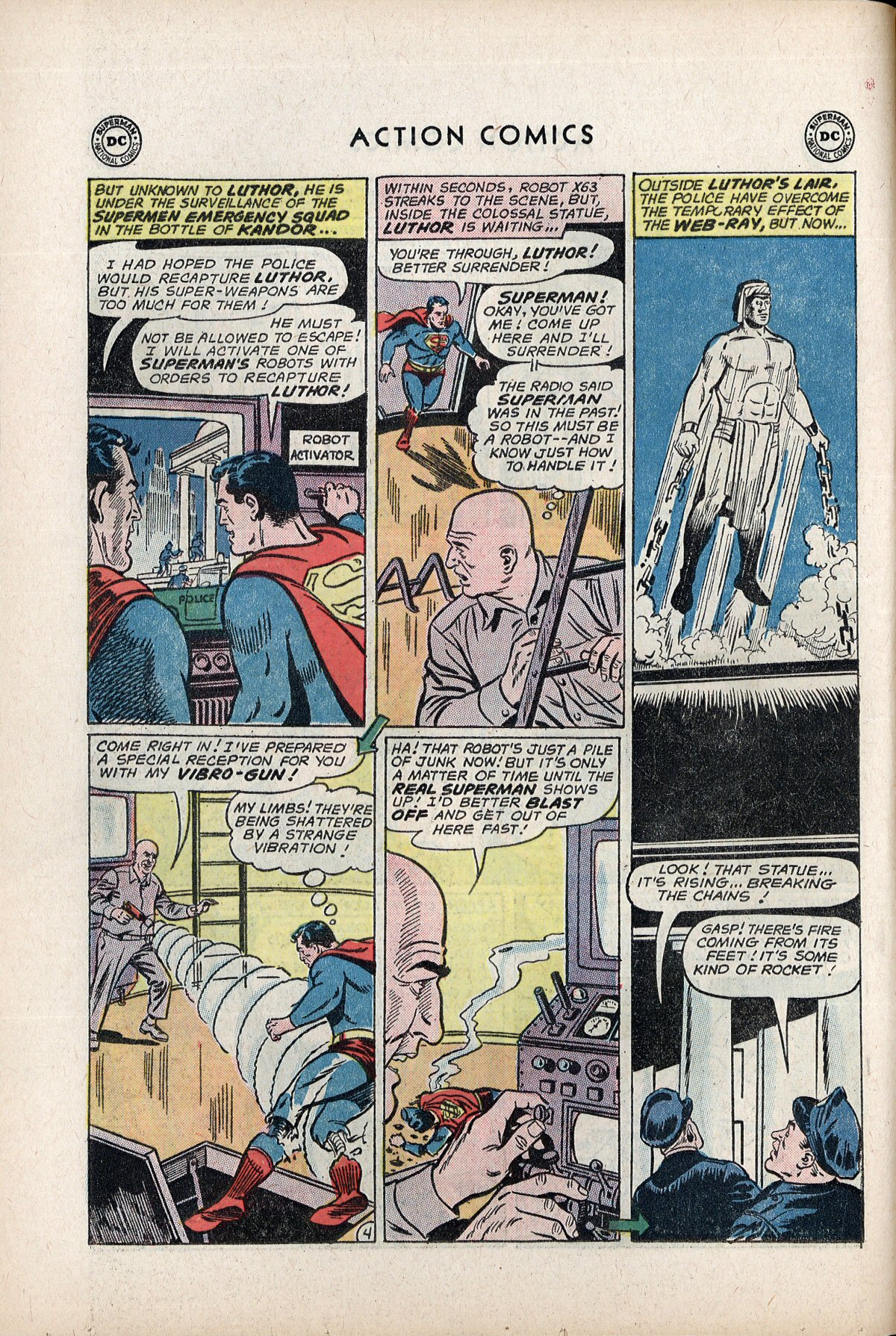 Read online Action Comics (1938) comic -  Issue #292 - 6