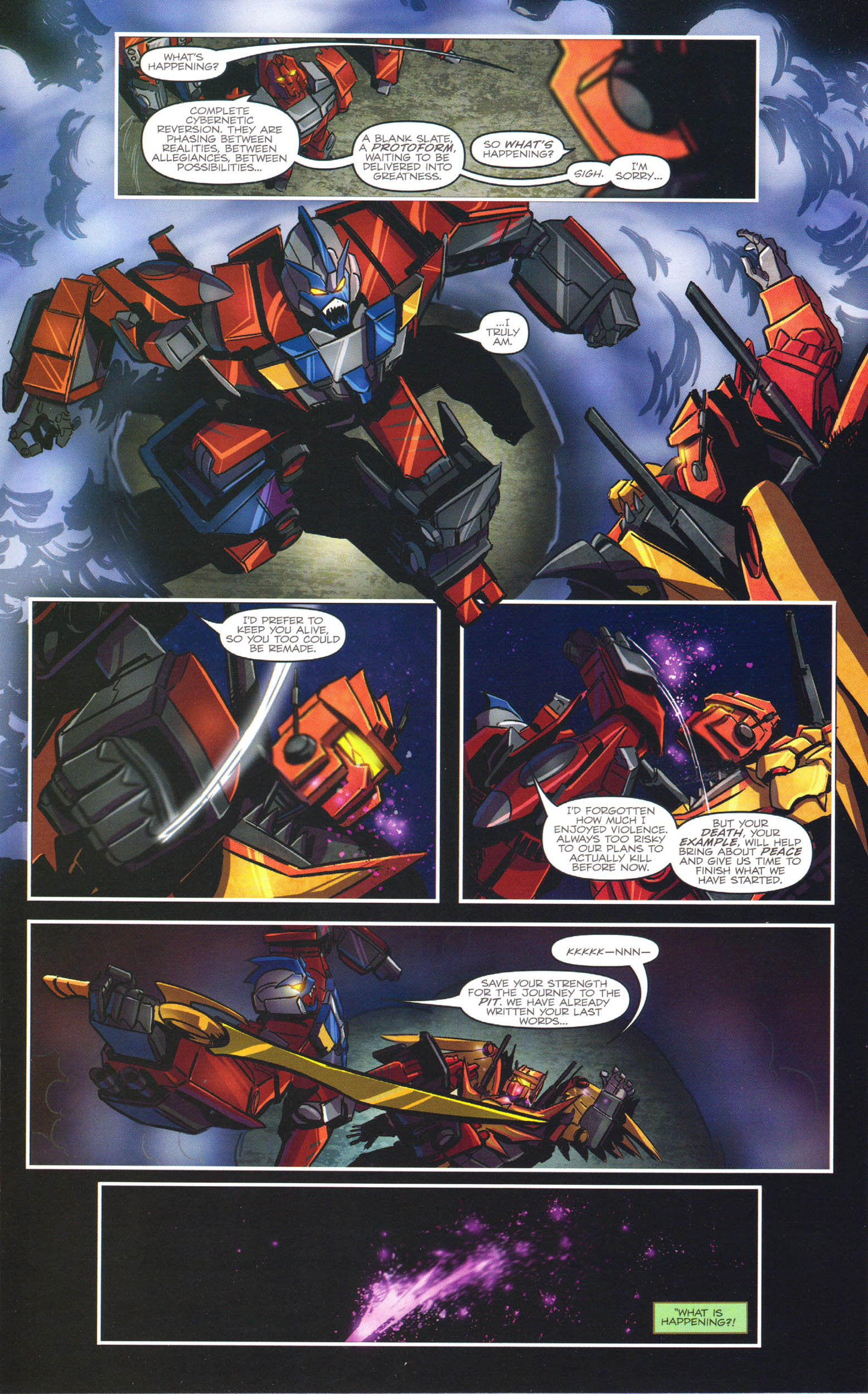 Read online Transformers: Dawn of the Predacus comic -  Issue # Full - 19