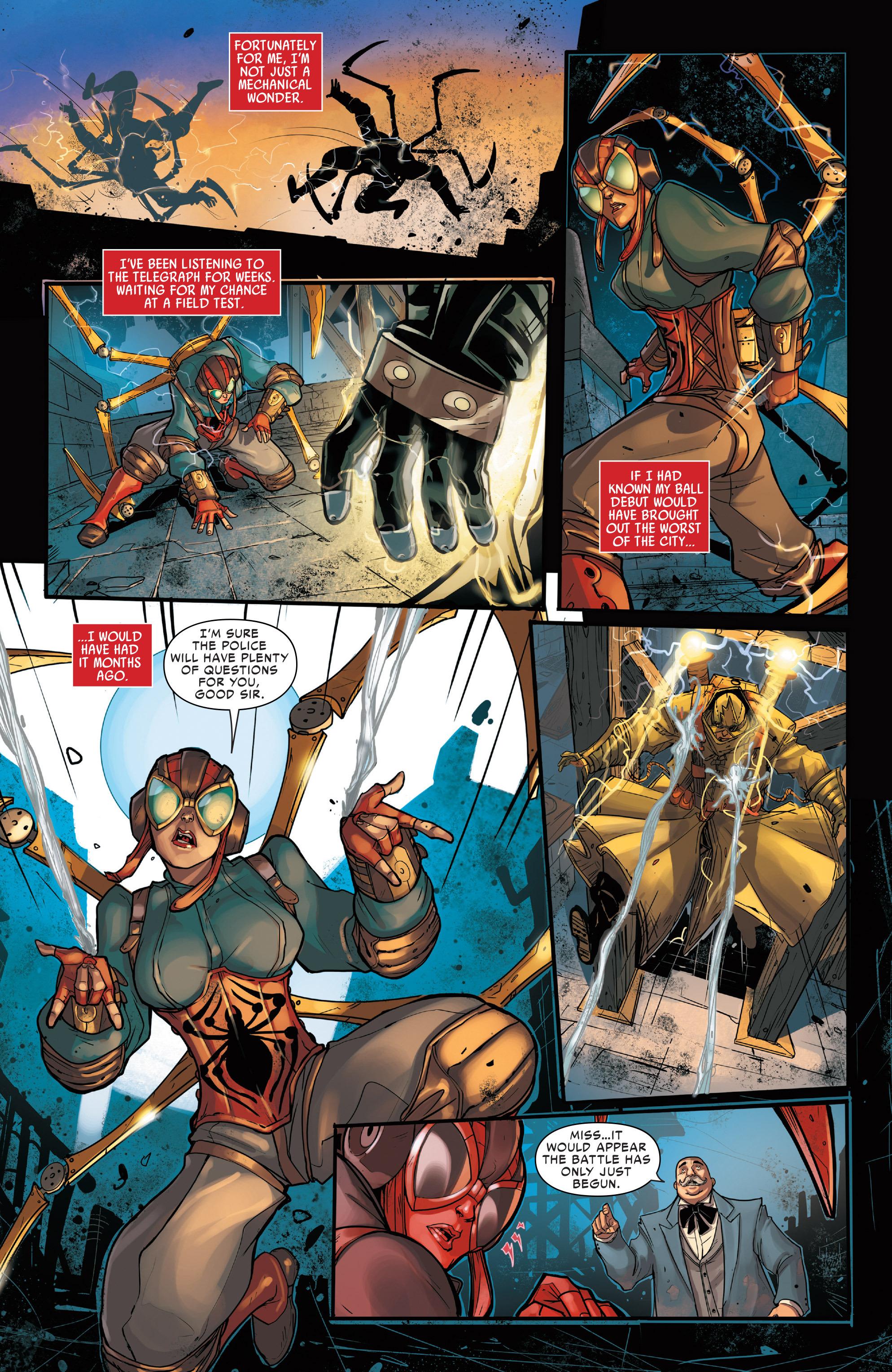 Spider Verse 1 Online Comics Danger Zone Comics