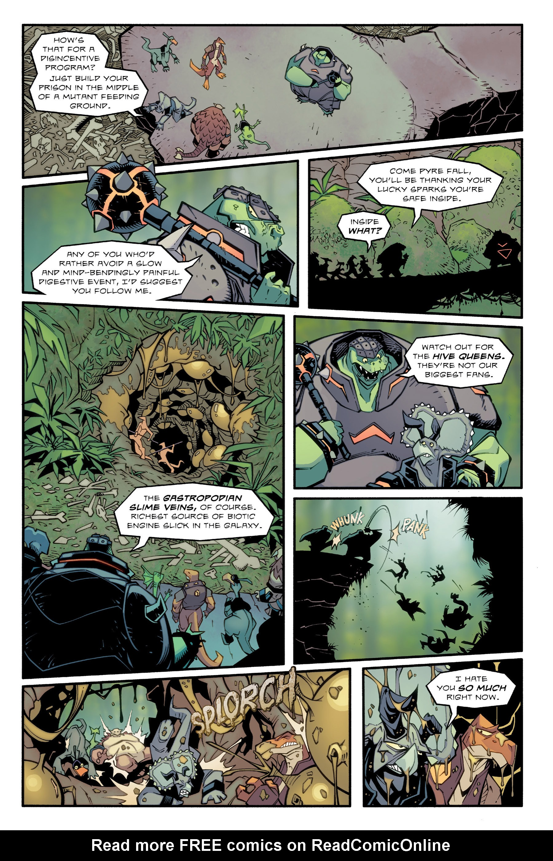 Read online Rexodus comic -  Issue # Full - 68