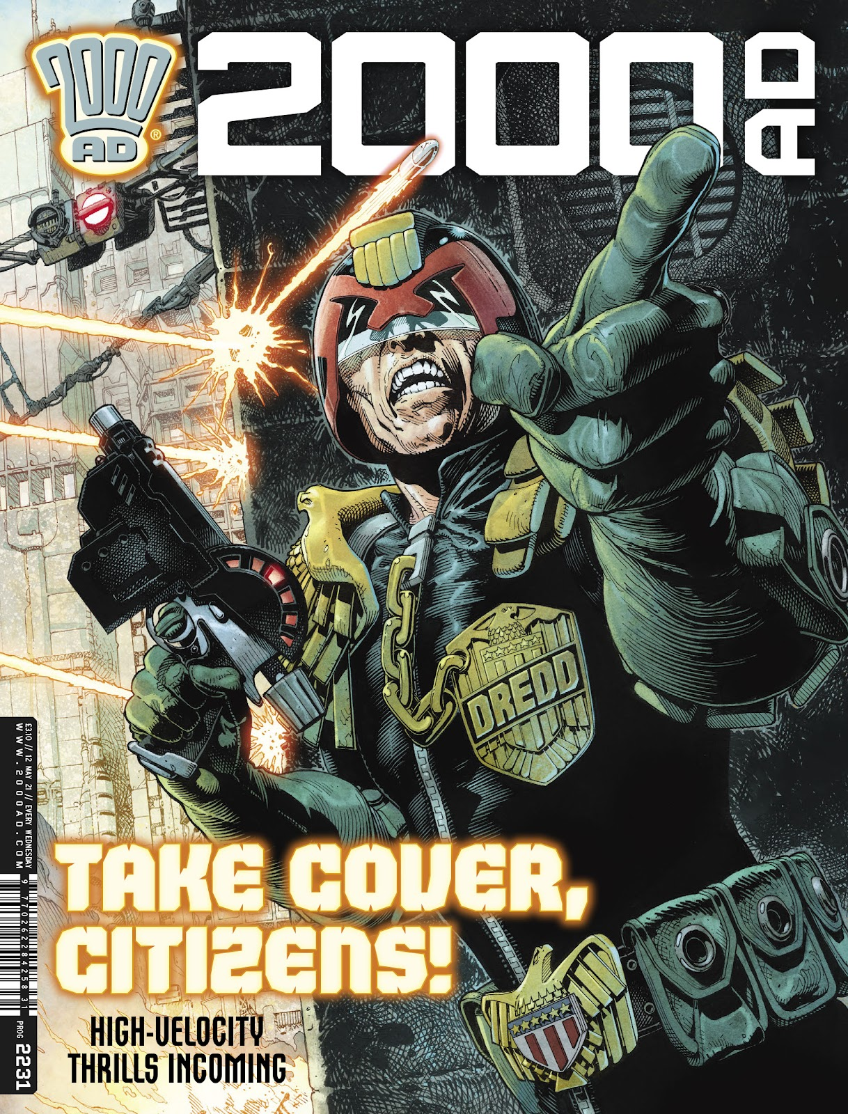 2000 AD issue 2231 - Page 1