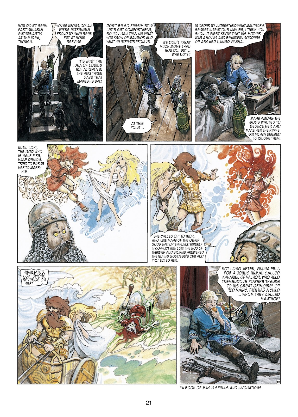 Read online Thorgal comic -  Issue #23 - 23
