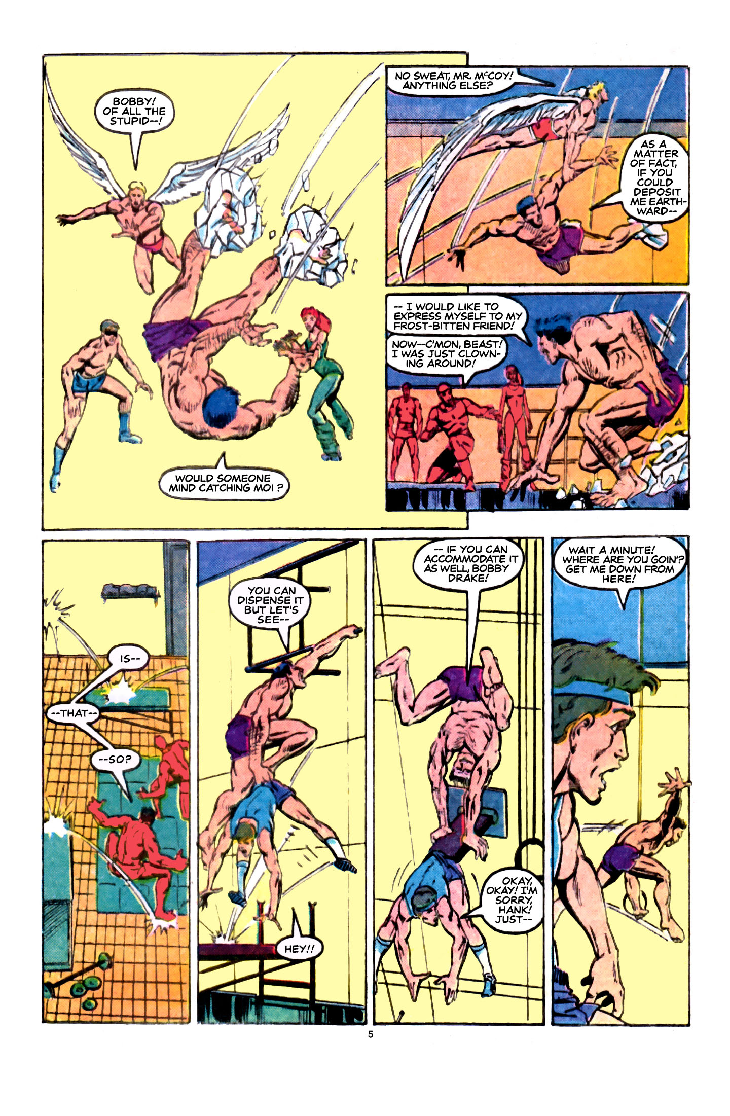 Read online X-Factor (1986) comic -  Issue #5 - 6