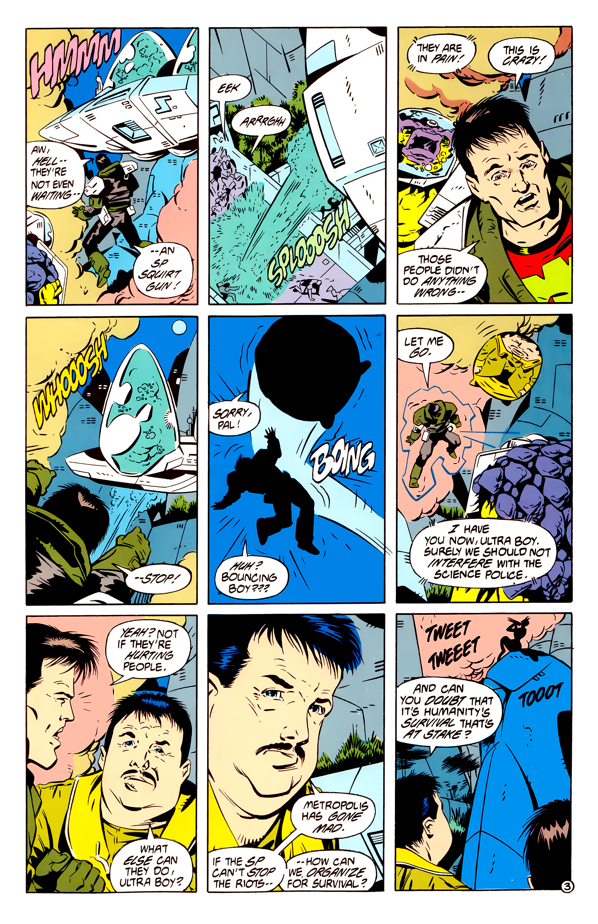 Legion of Super-Heroes (1984) 61 Page 3