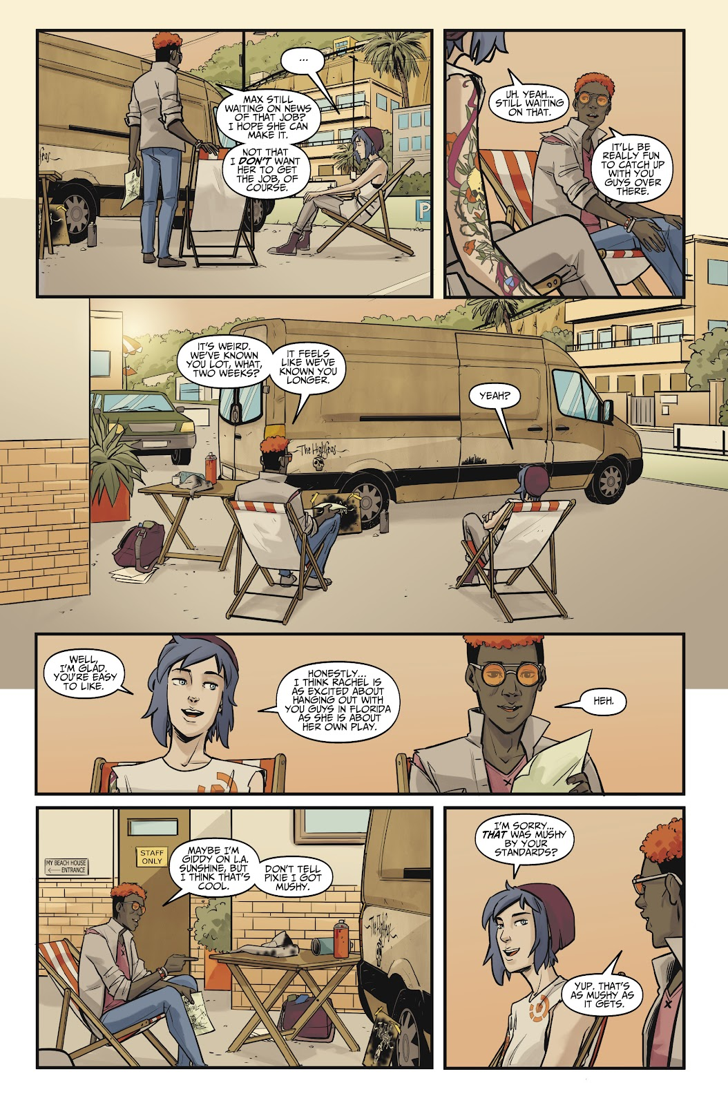 Read online Life is Strange comic -  Issue #10 - 26