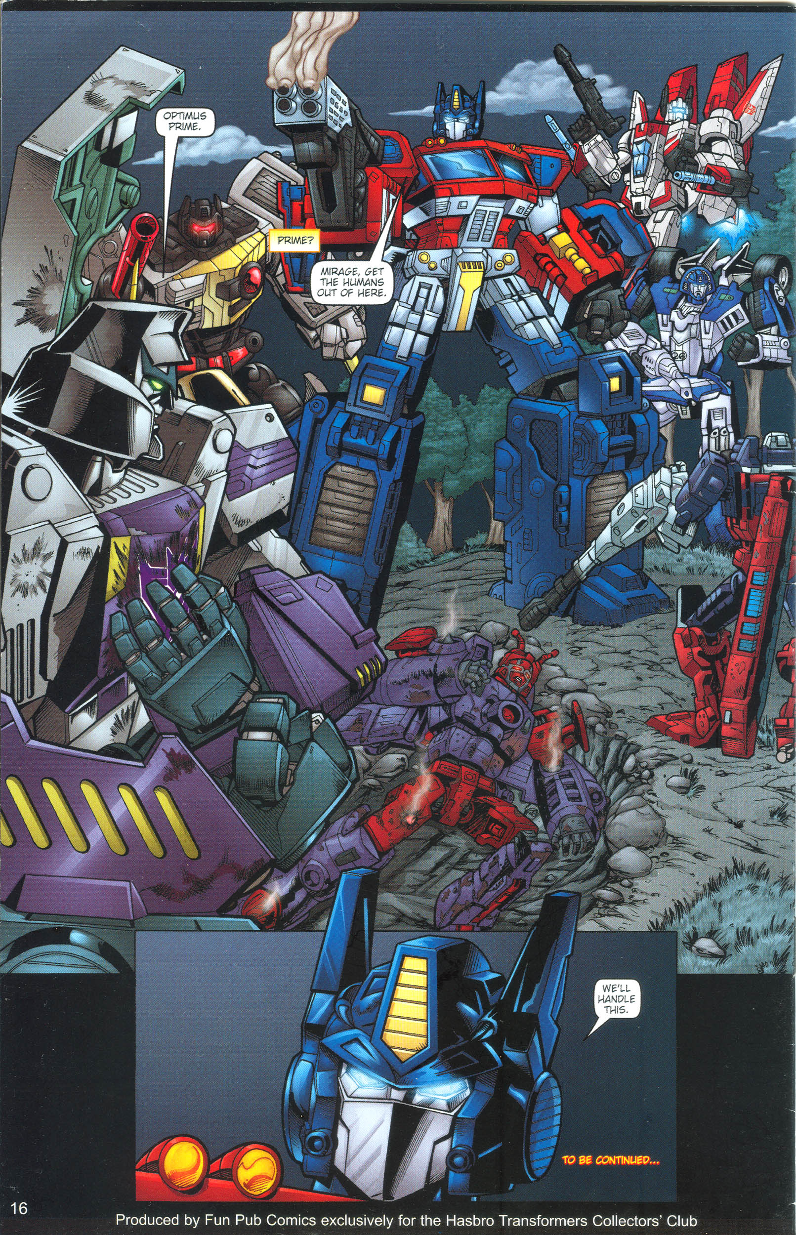 Read online Transformers: Collectors' Club comic -  Issue #13 - 16