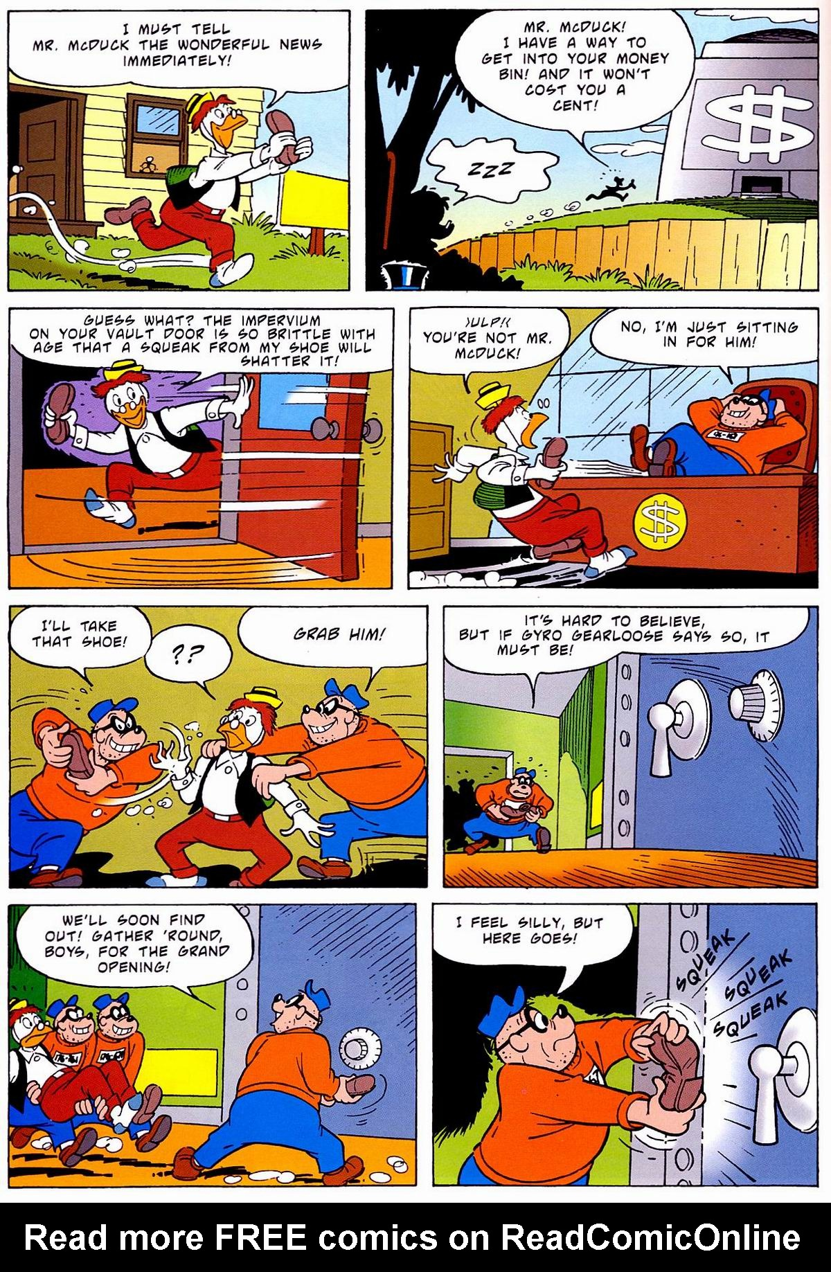 Read online Uncle Scrooge (1953) comic -  Issue #320 - 32