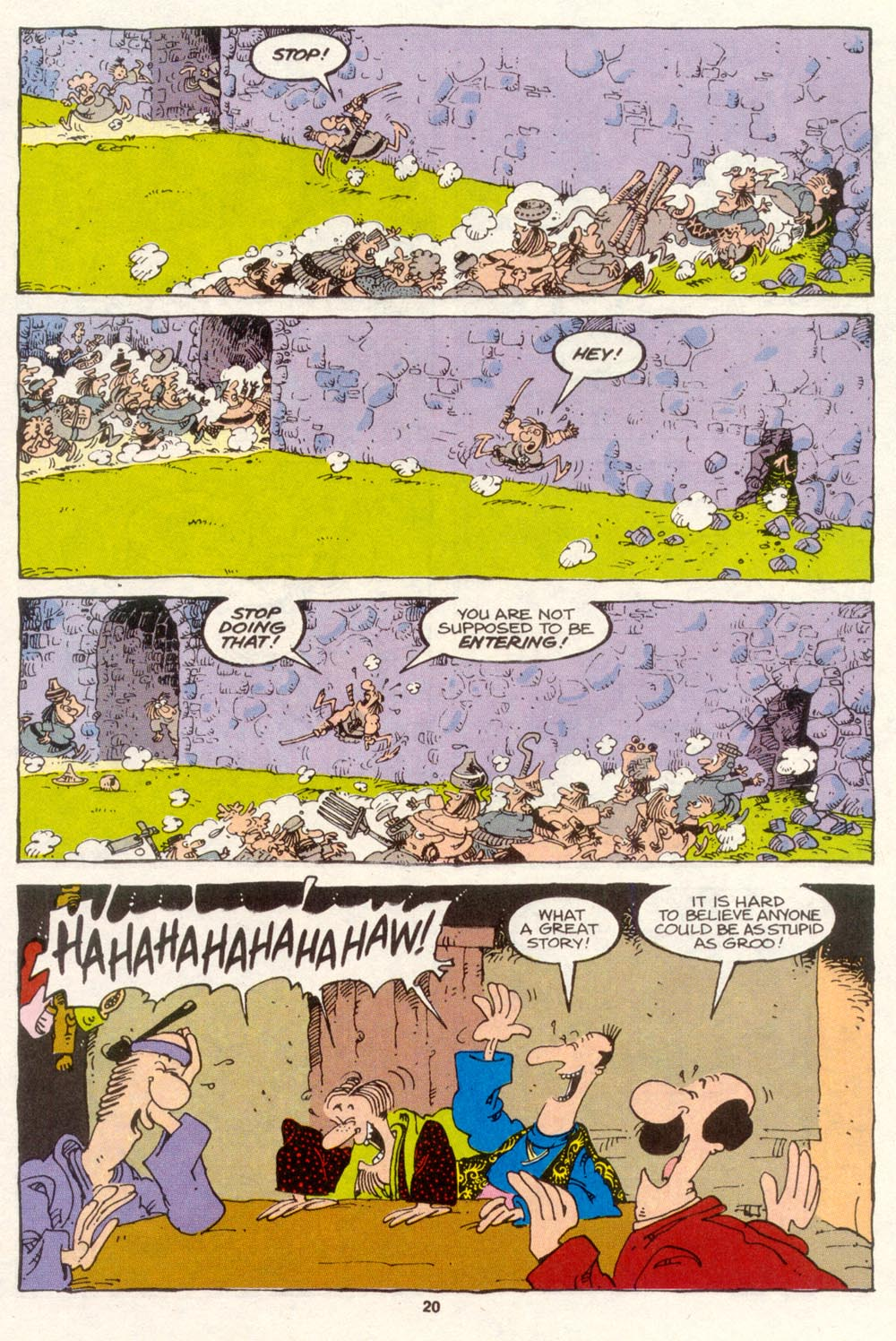 Read online Sergio Aragonés Groo the Wanderer comic -  Issue #86 - 16