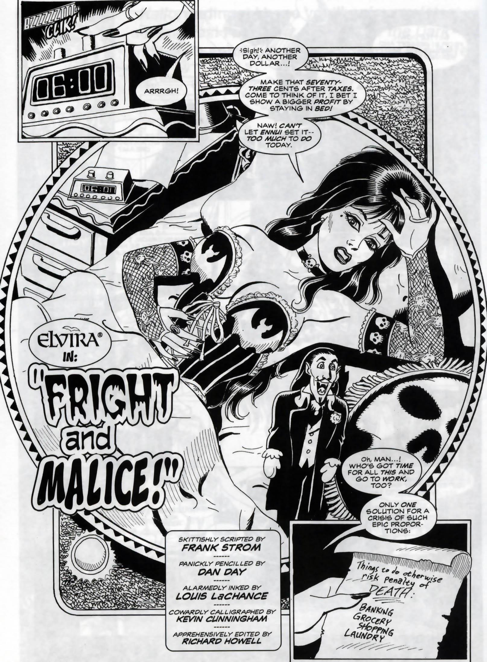 Read online Elvira, Mistress of the Dark comic -  Issue #120 - 4