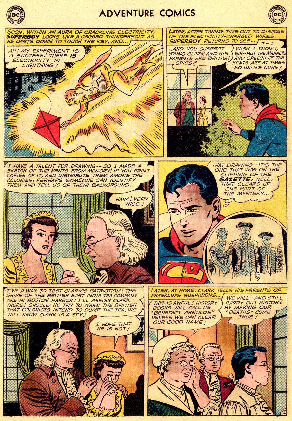 Read online Adventure Comics (1938) comic -  Issue #296 - 12