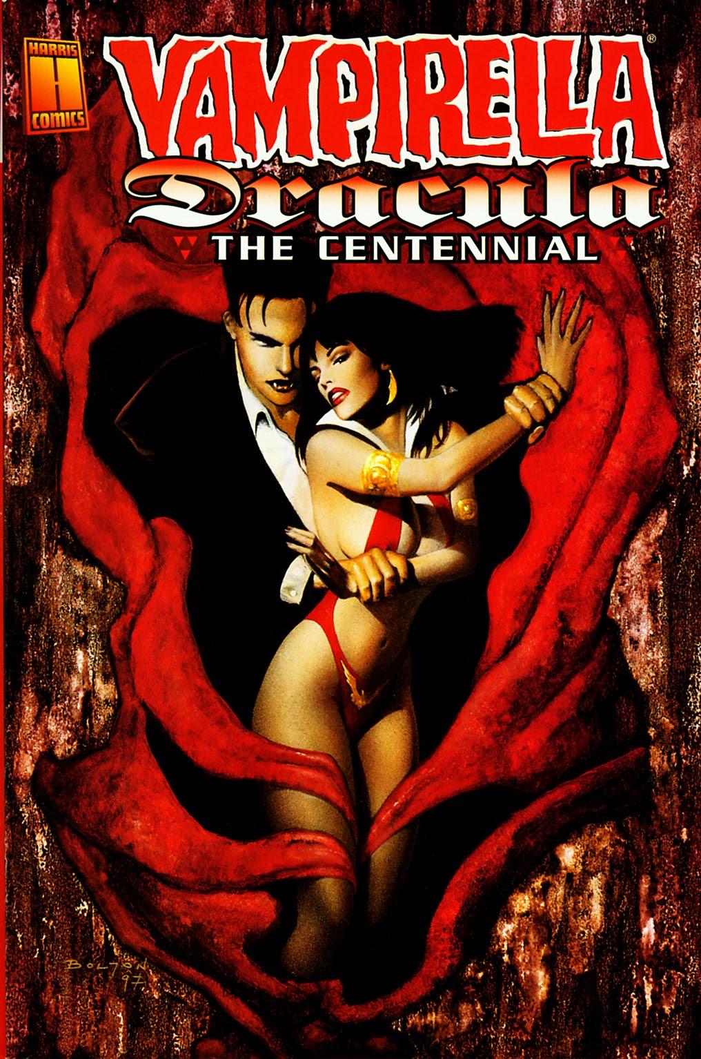 Vampirella / Dracula: The Centennial Full Page 1