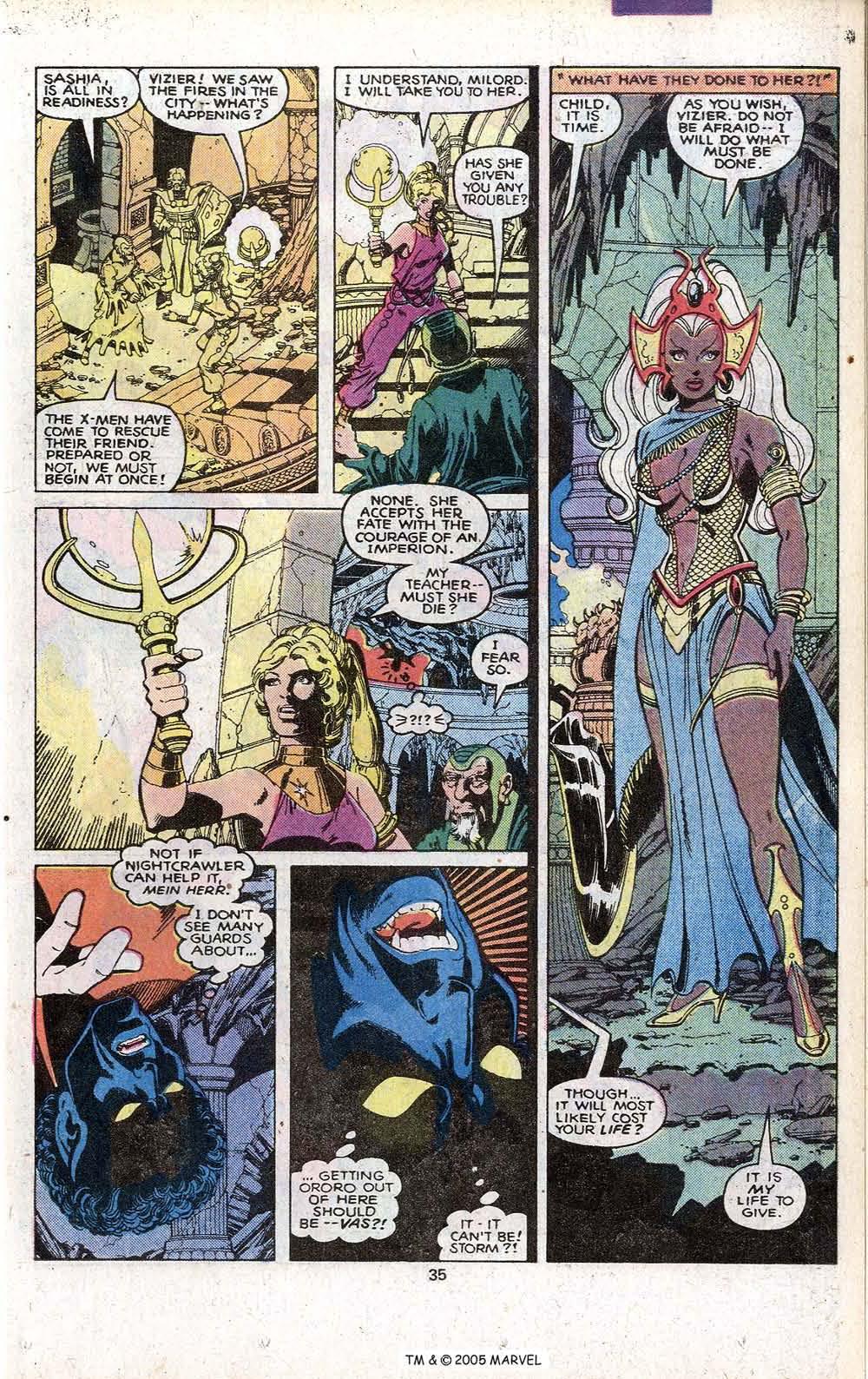 Read online Uncanny X-Men (1963) comic -  Issue # _Annual 3 - 37