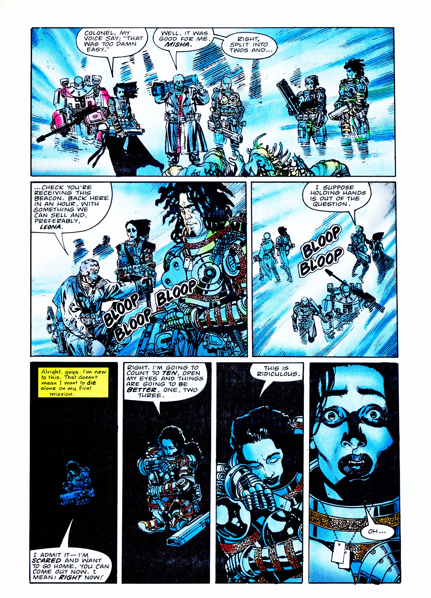 Read online Overkill comic -  Issue #2 - 31