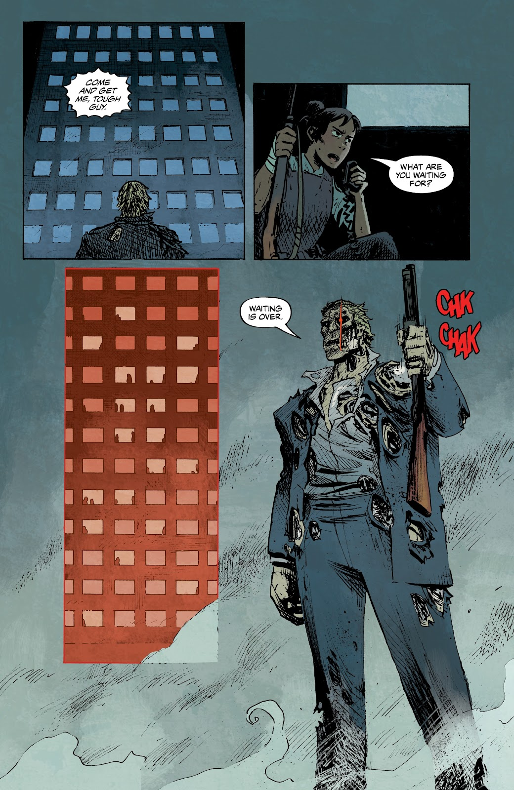 Read online The Terminator: Sector War comic -  Issue #3 - 9