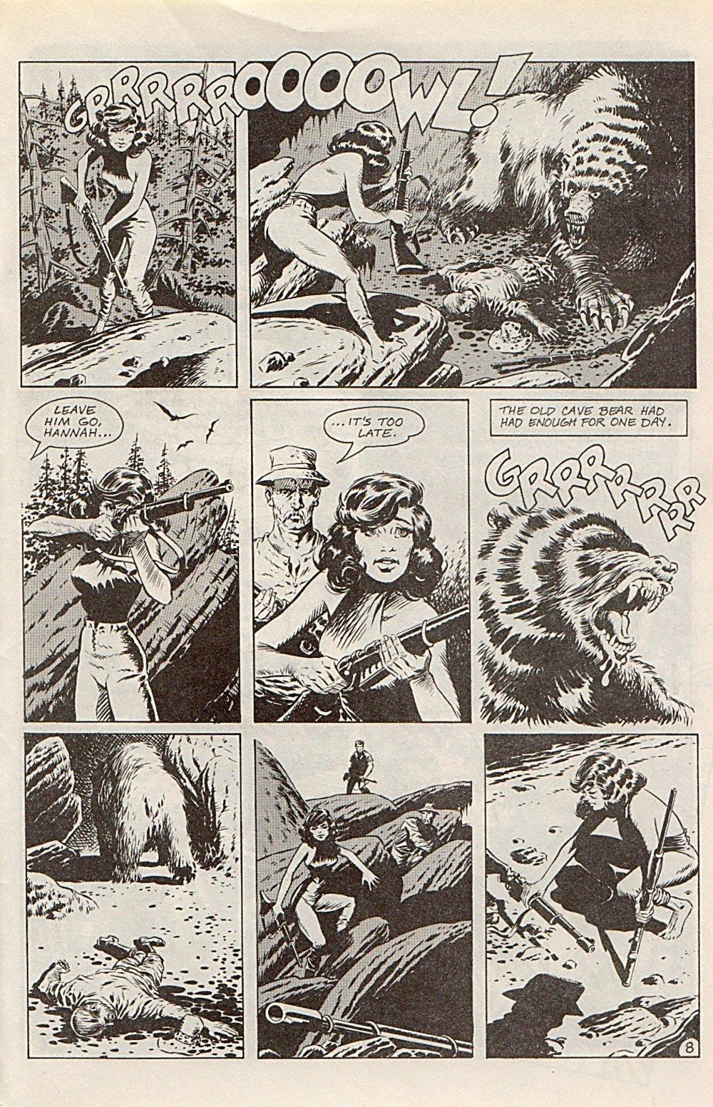 Read online Xenozoic Tales comic -  Issue #1 - 32