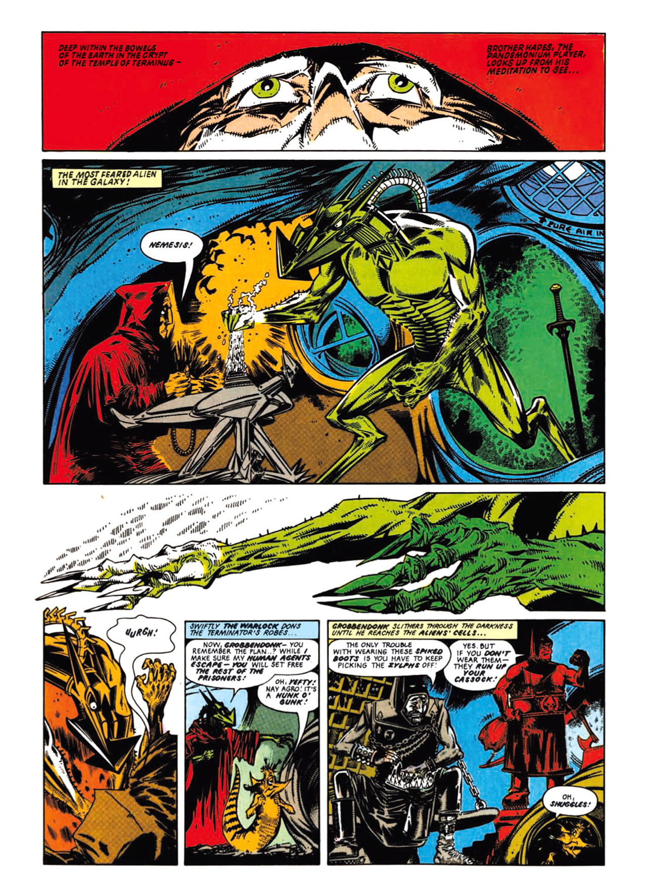 Read online Nemesis The Warlock comic -  Issue # TPB Deviant Edition - 55