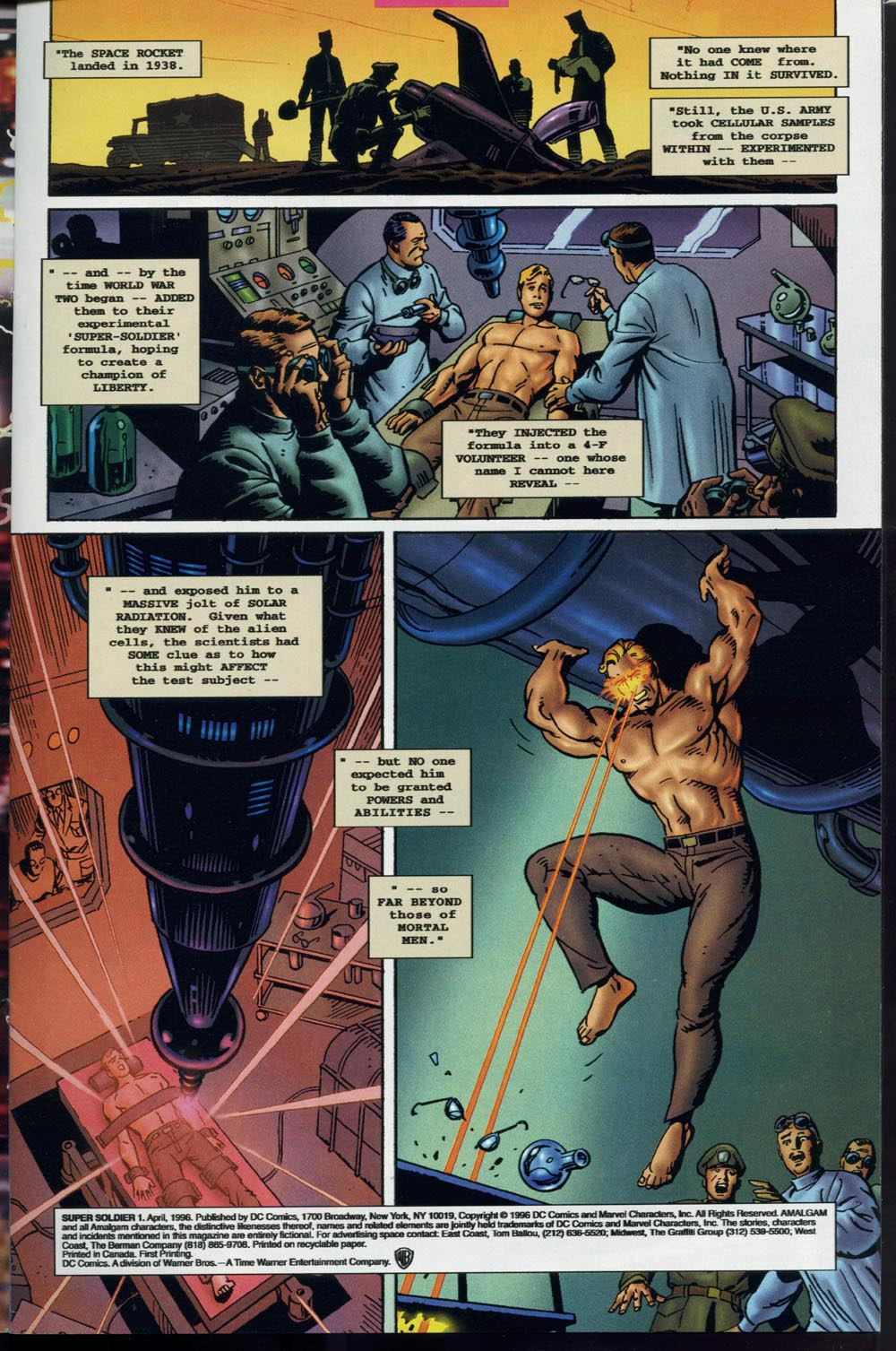 Read online Super Soldier comic -  Issue # Full - 2