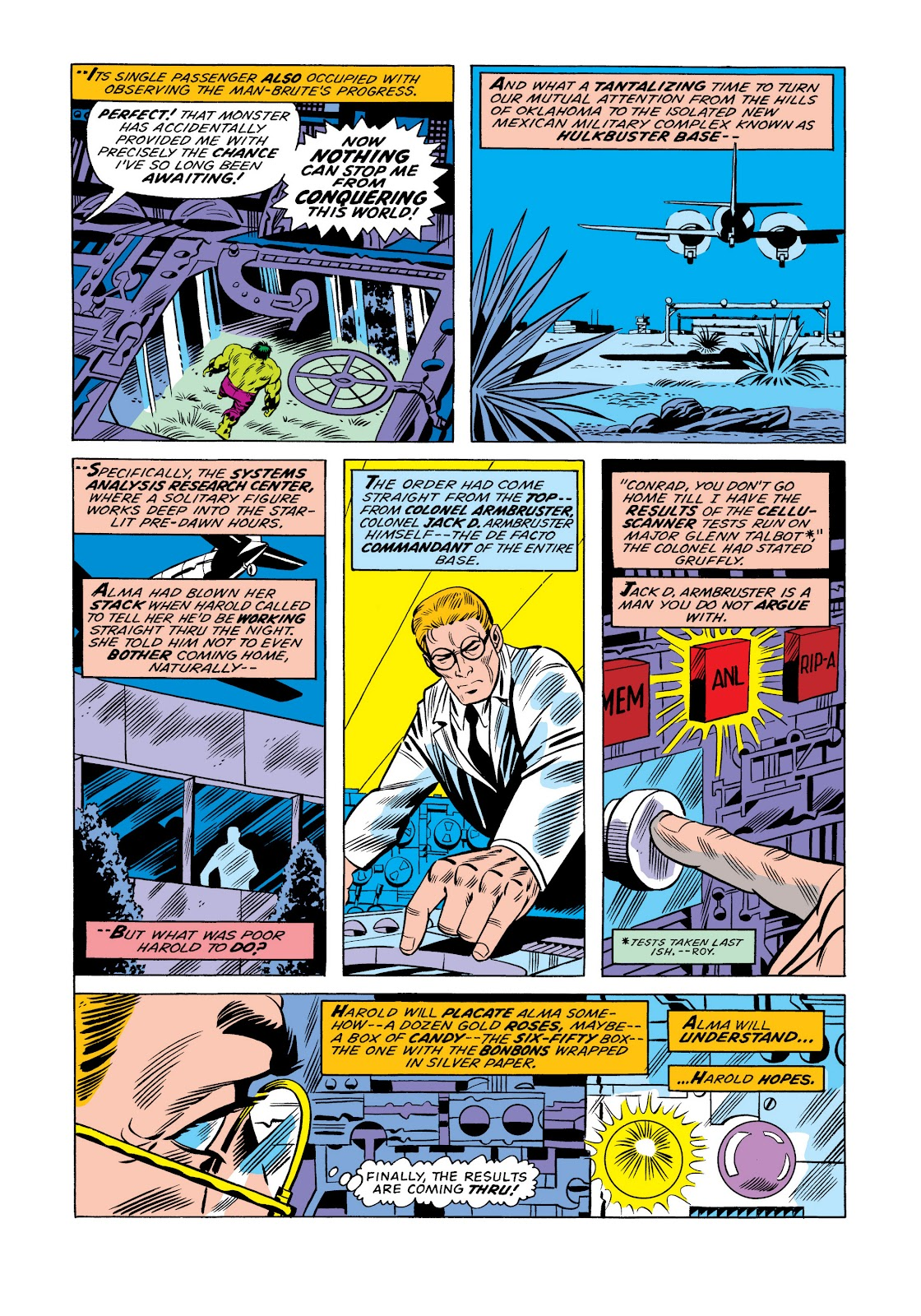Read online Marvel Masterworks: The Incredible Hulk comic -  Issue # TPB 11 (Part 1) - 12