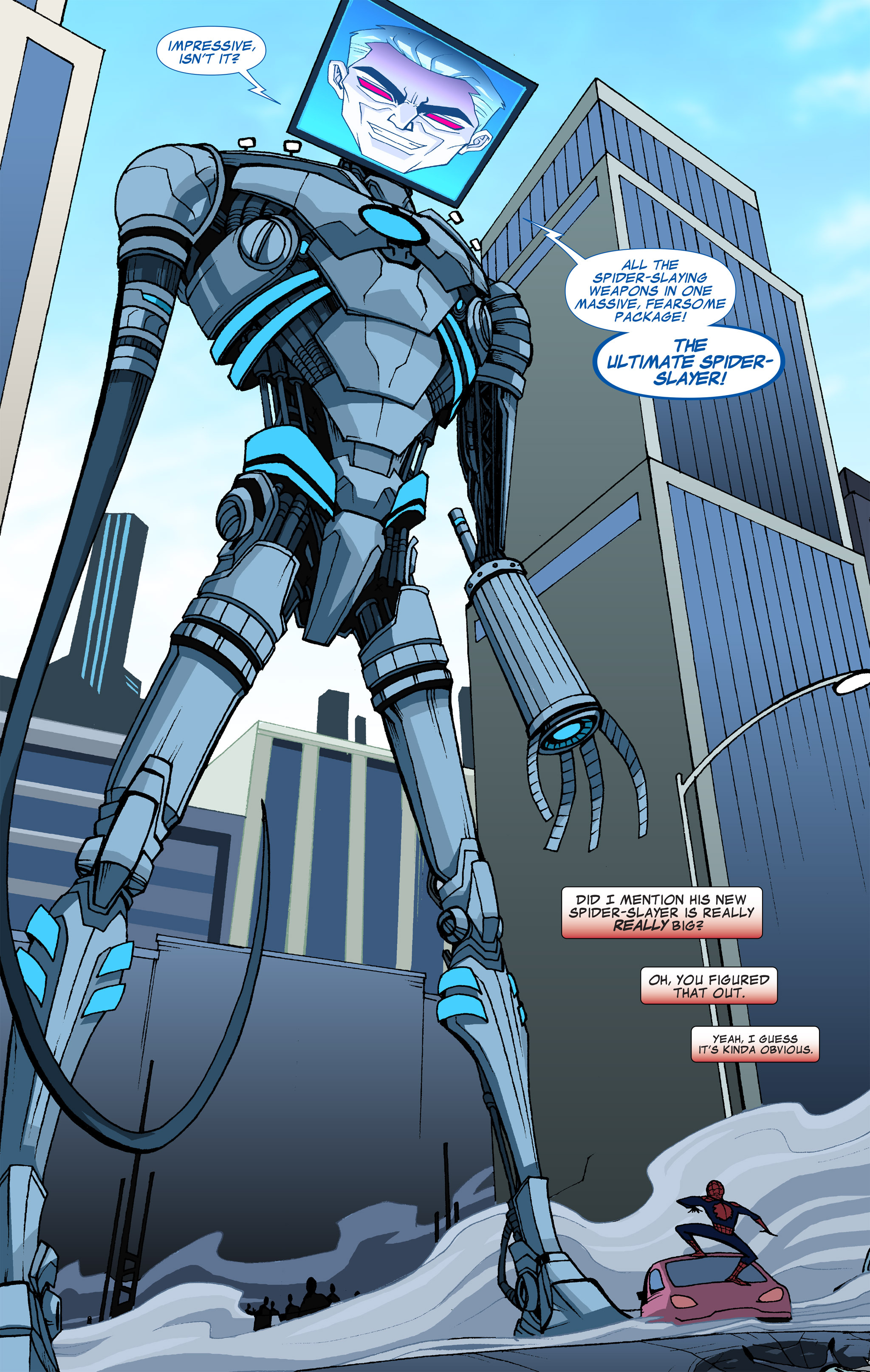 Read online Ultimate Spider-Man (Infinite Comics) (2015) comic -  Issue #6 - 8