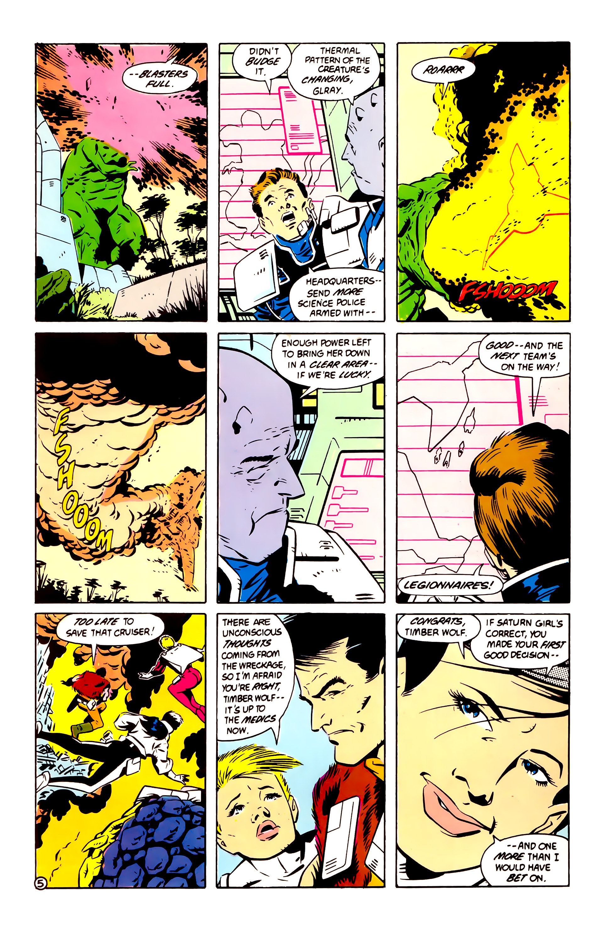Legion of Super-Heroes (1984) 60 Page 5