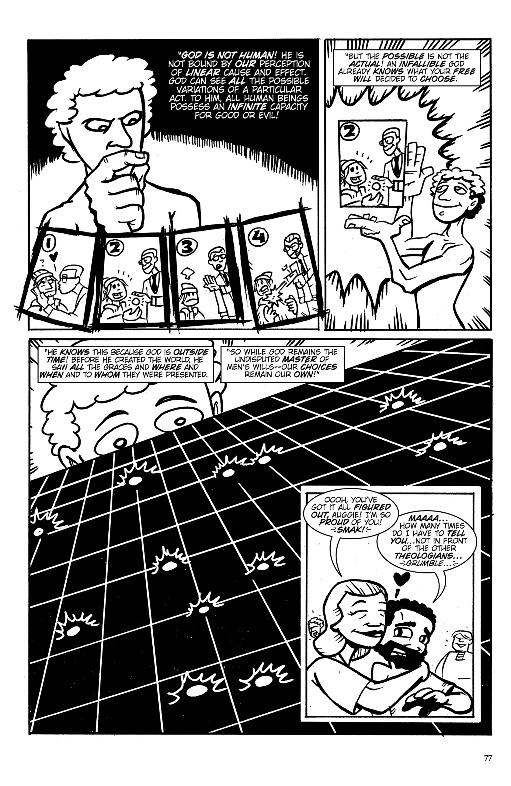 Read online Action Philosophers! comic -  Issue #Action Philosophers! TPB (Part 1) - 77