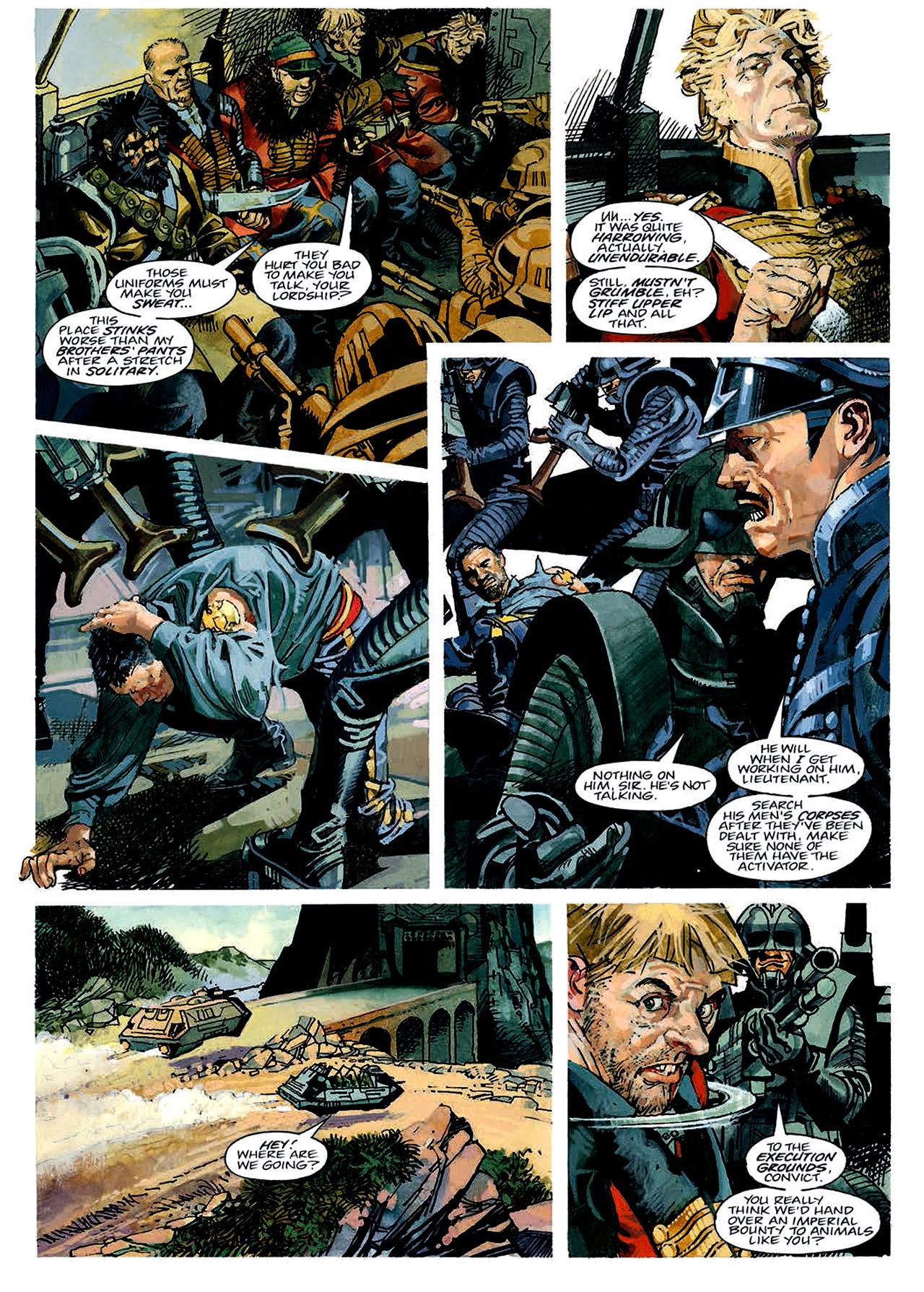 Read online Nikolai Dante comic -  Issue # TPB 4 - 37
