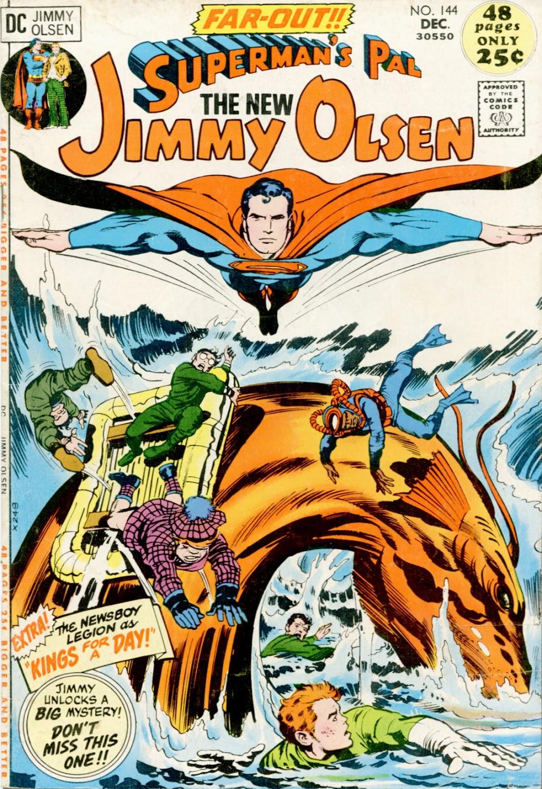 Supermans Pal Jimmy Olsen (1954) 144 Page 1