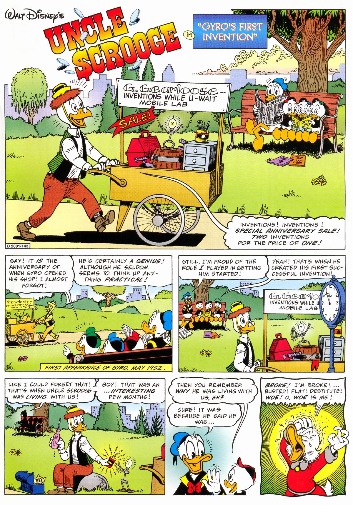 Read online Uncle Scrooge (1953) comic -  Issue #324 - 3