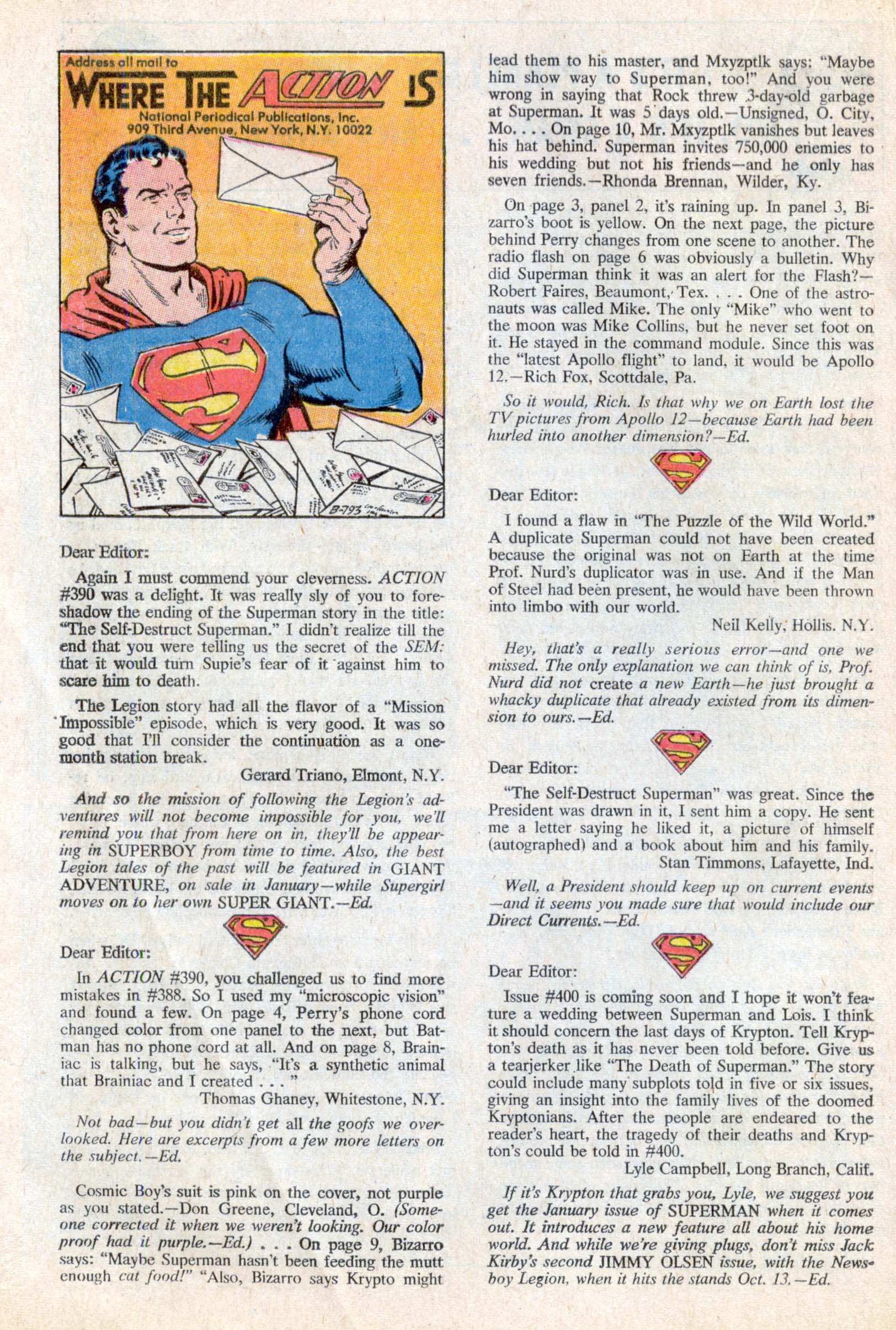 Read online Action Comics (1938) comic -  Issue #394 - 21