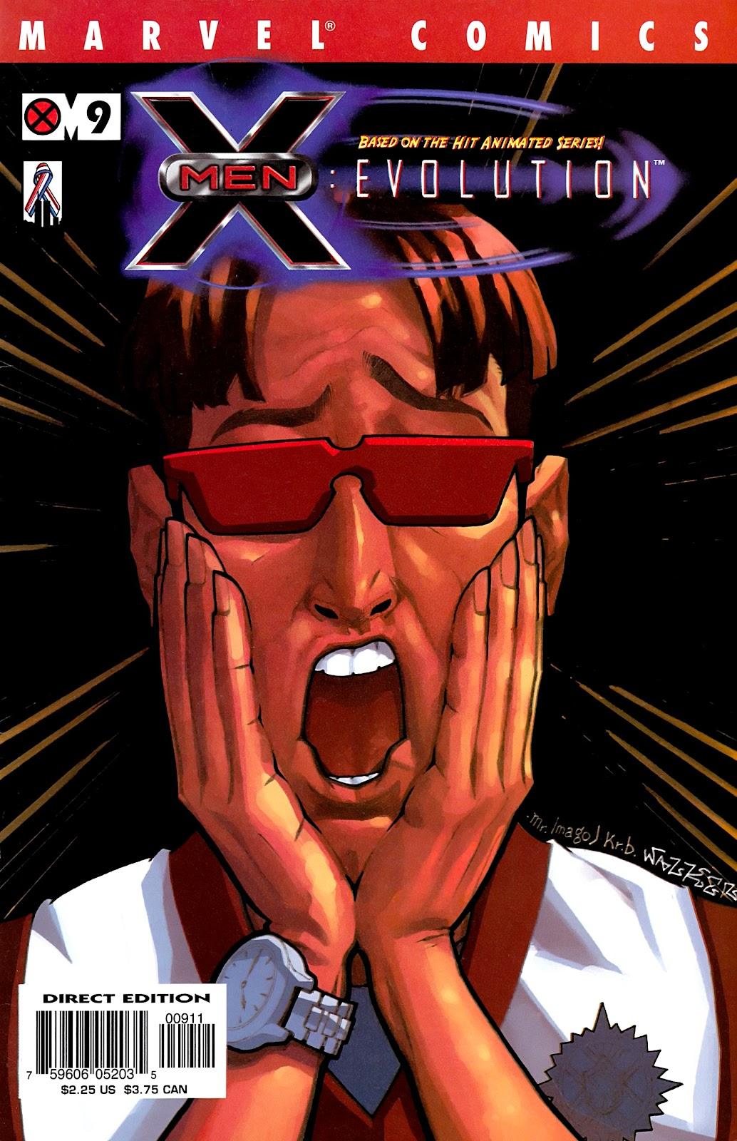 X-Men: Evolution 9 Page 1