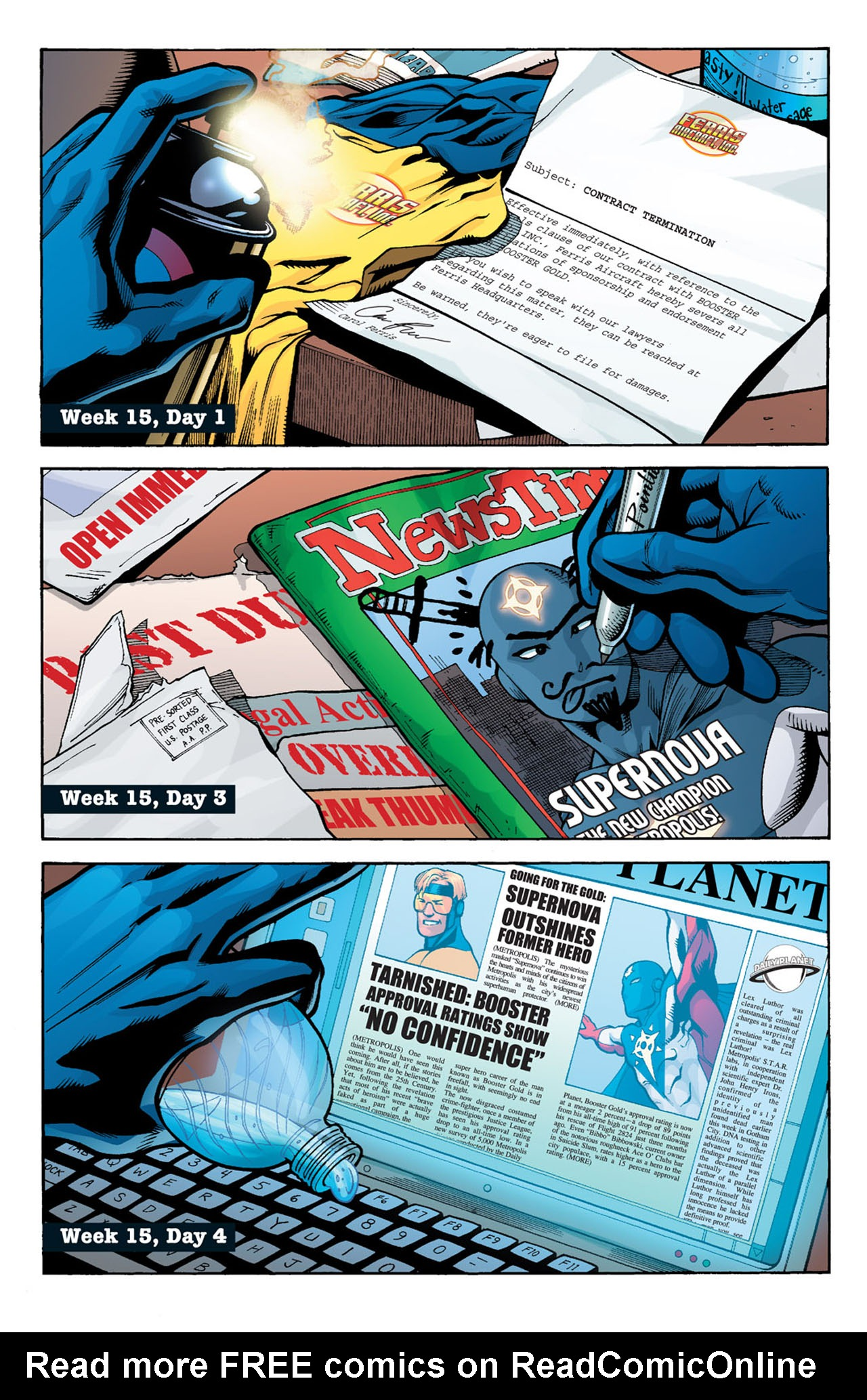 Read online 52 comic -  Issue #15 - 3