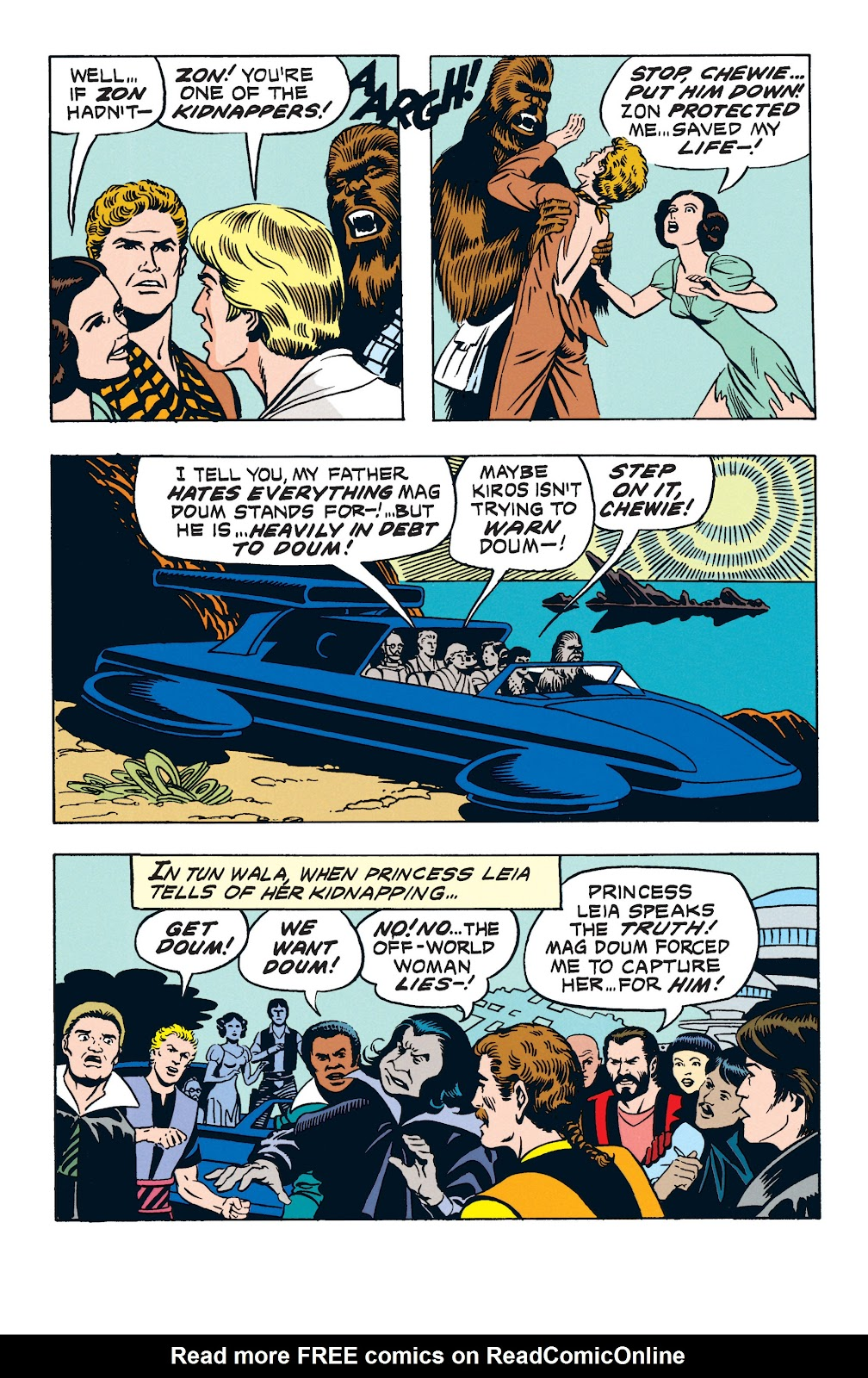 Read online Star Wars Legends: The Newspaper Strips - Epic Collection comic -  Issue # TPB (Part 3) - 43