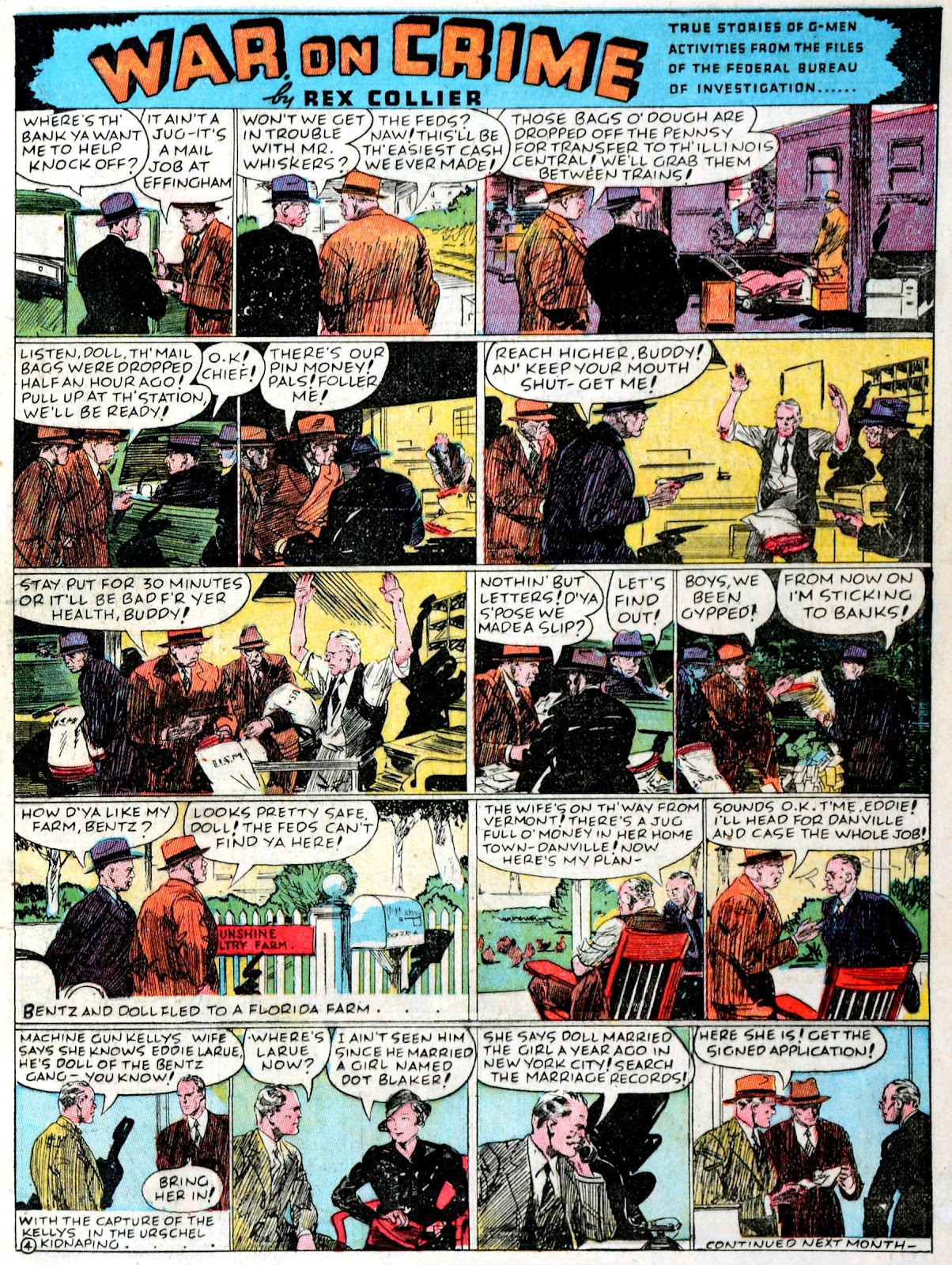 Read online Famous Funnies comic -  Issue #43 - 25