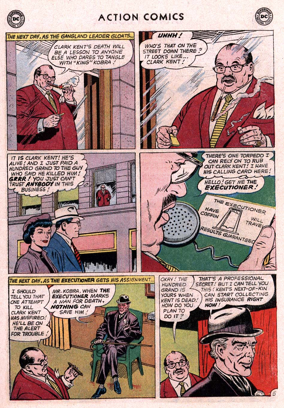 Read online Action Comics (1938) comic -  Issue #307 - 6