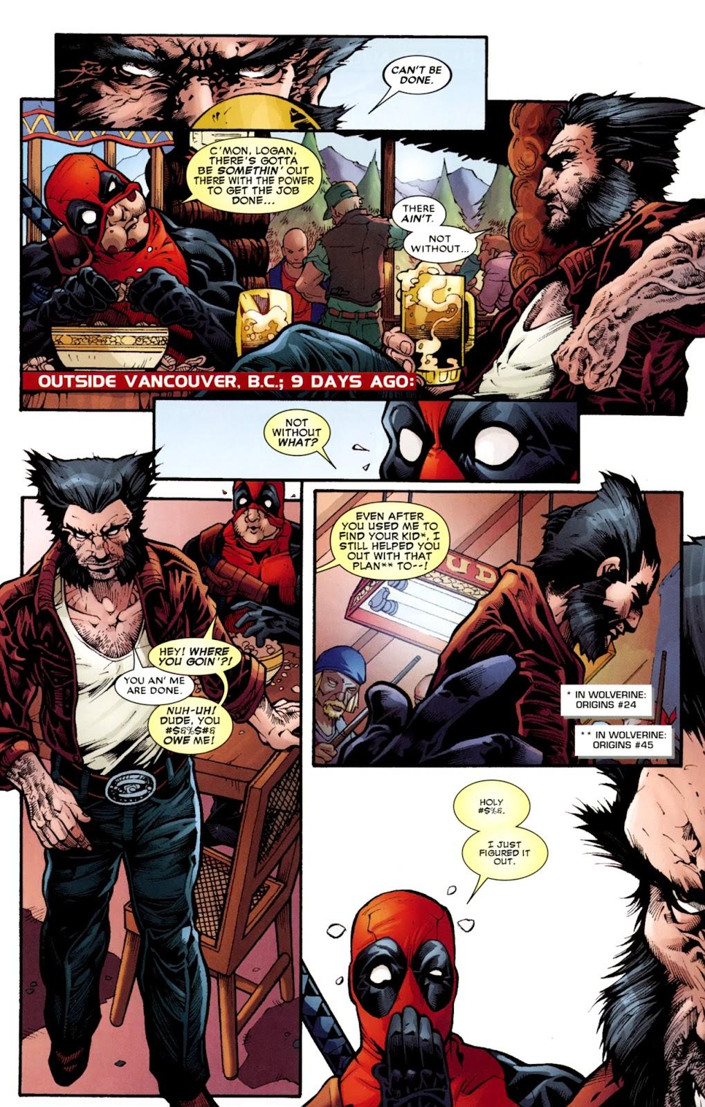 Read online Deadpool (2008) comic -  Issue #37 - 5