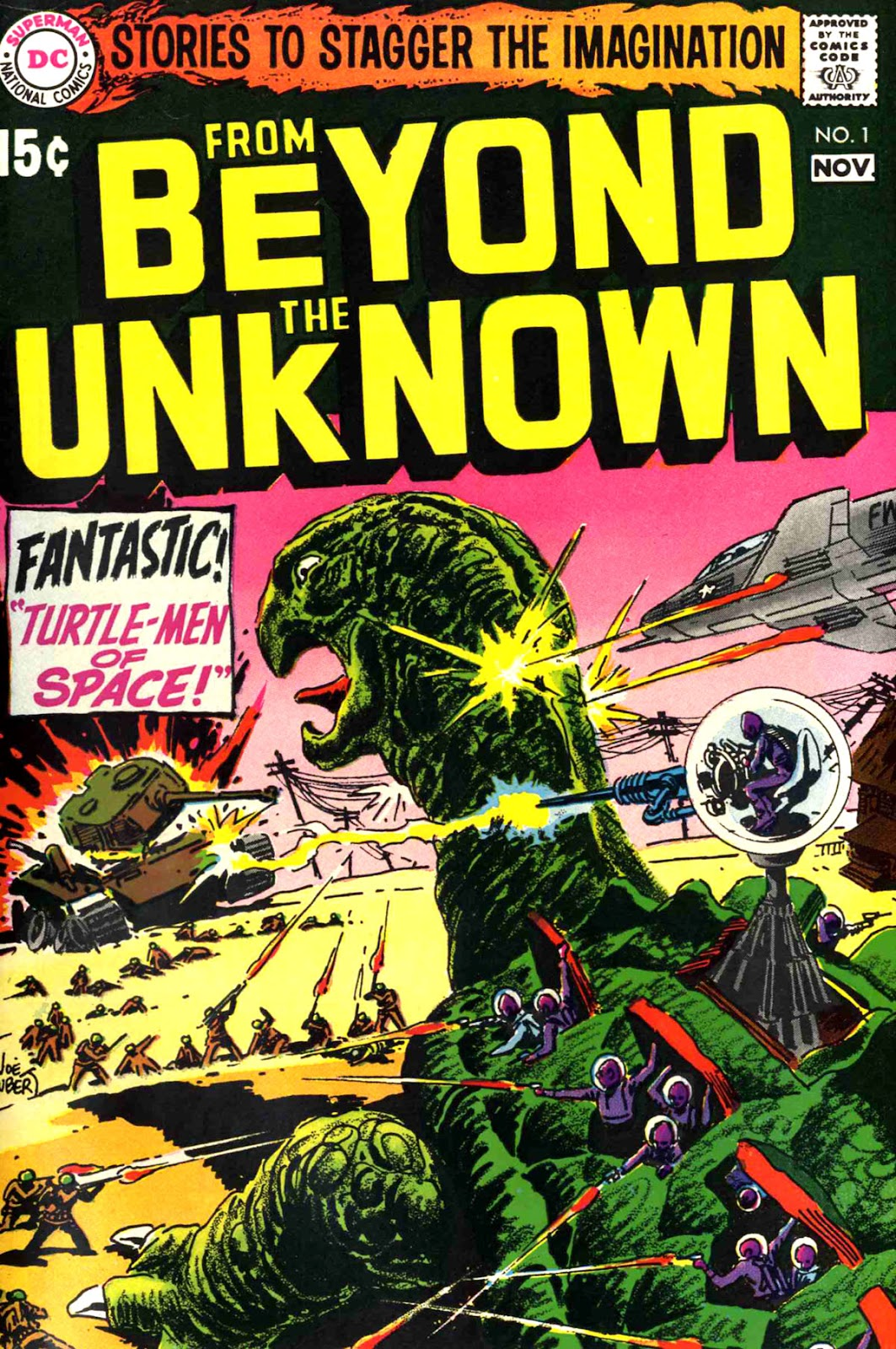 From Beyond the Unknown (1969) issue 1 - Page 1