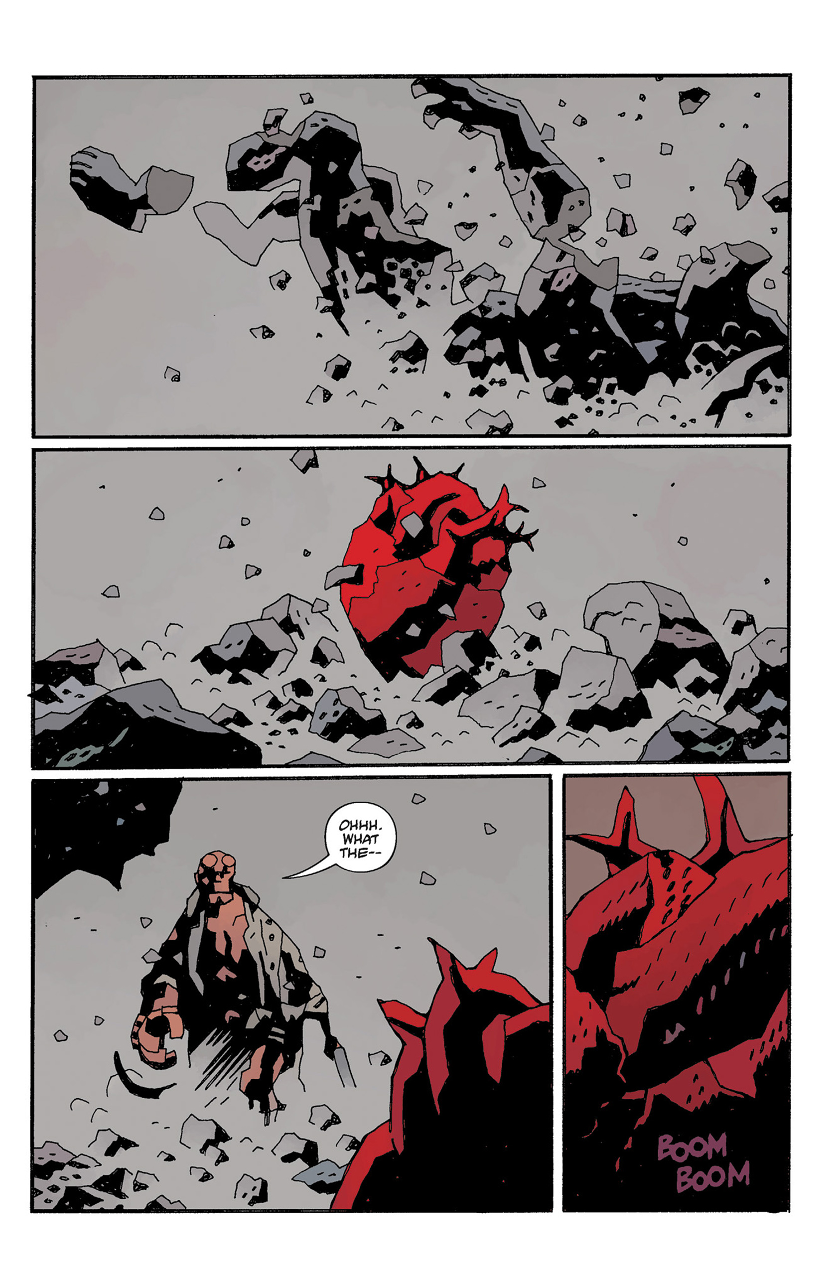 Read online Hellboy: The Crooked Man and Others comic -  Issue # TPB - 131