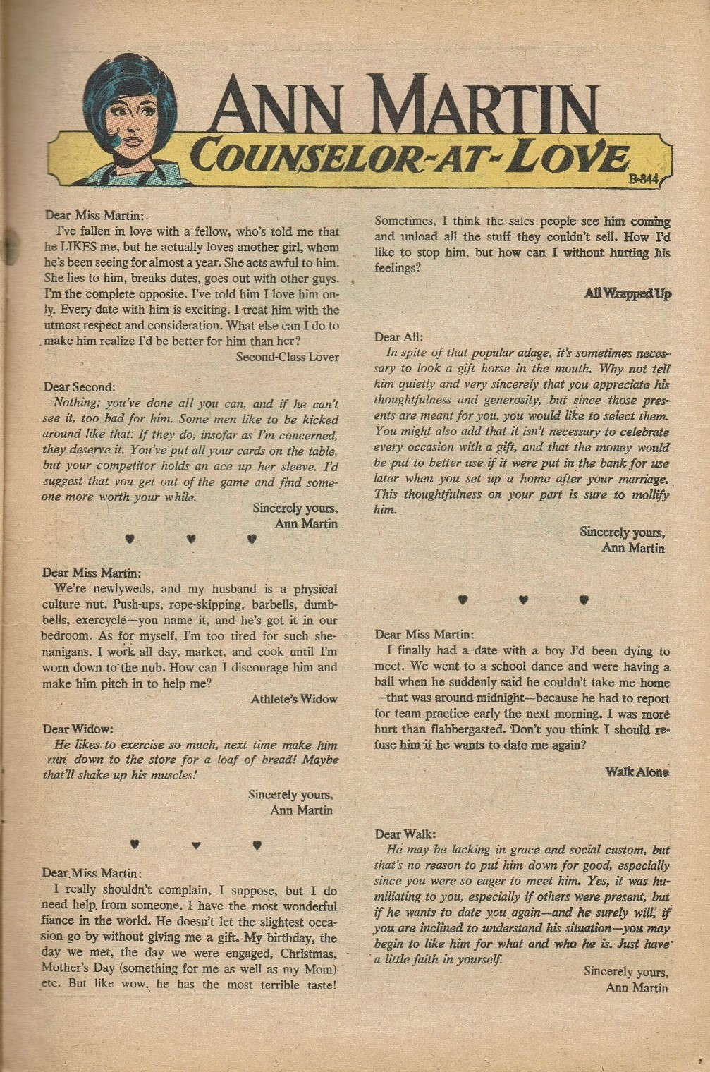 Read online Secret Hearts comic -  Issue #151 - 13