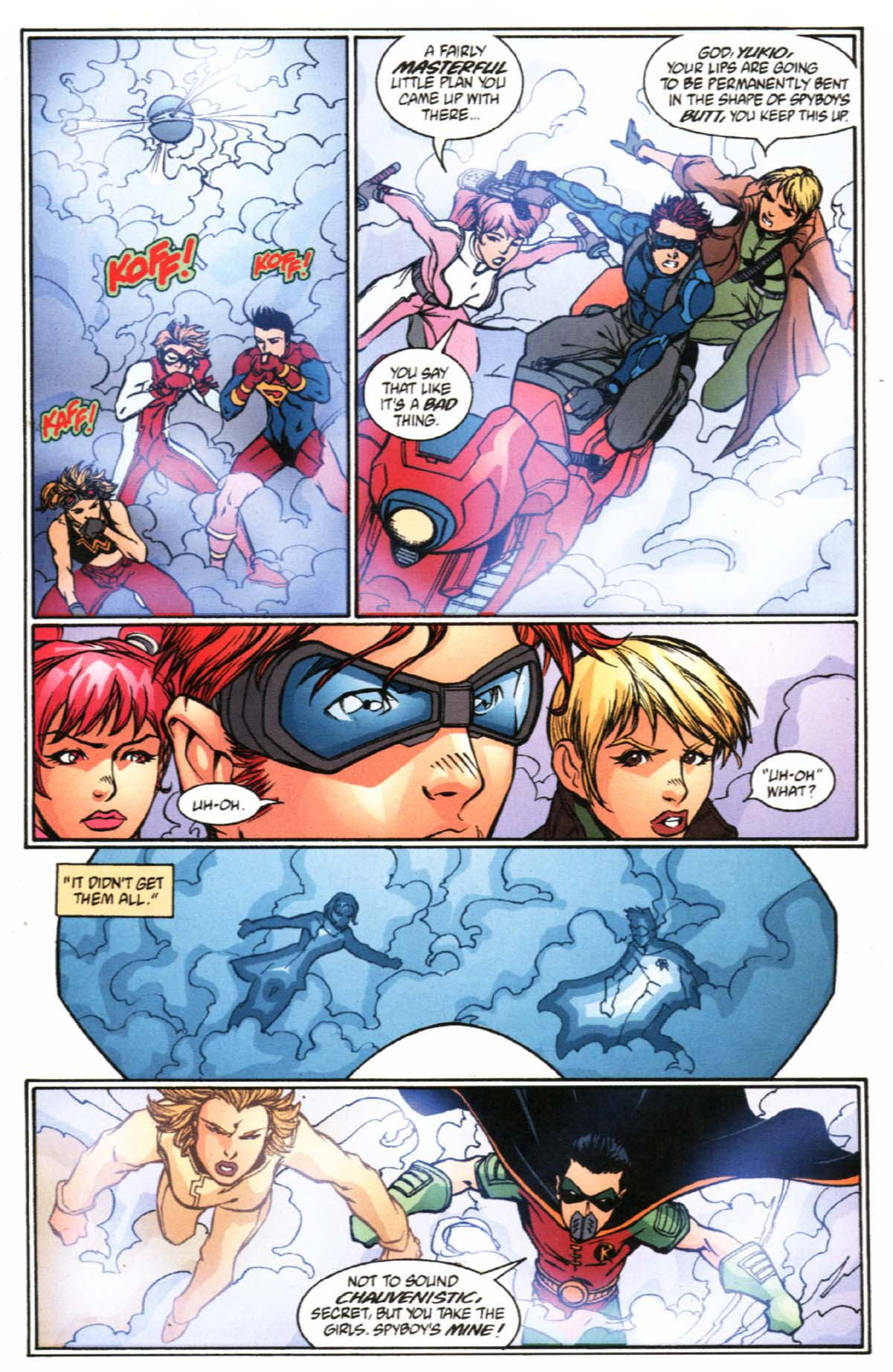 Read online SpyBoy/Young Justice comic -  Issue #2 - 8