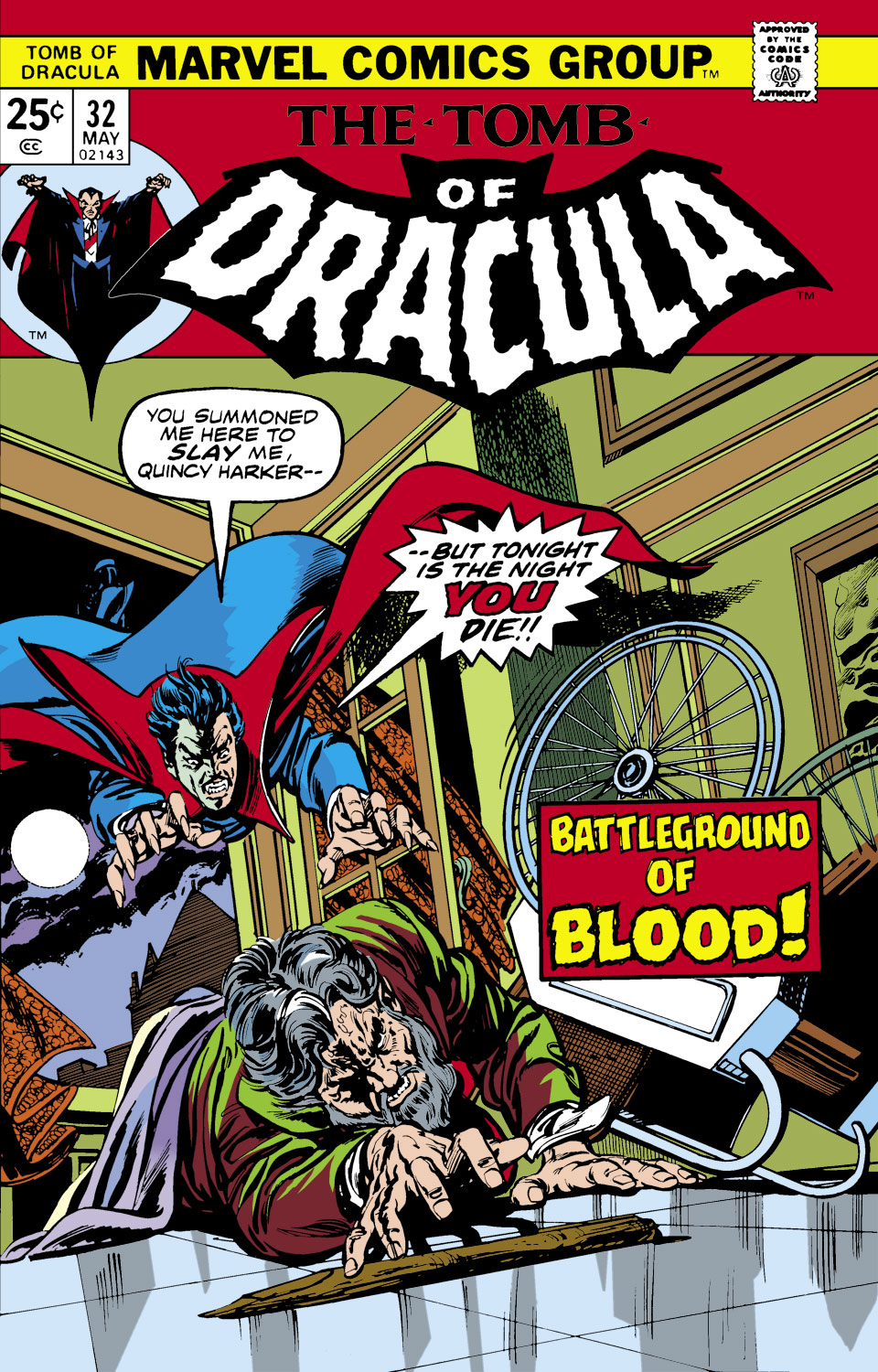Tomb of Dracula (1972) issue 32 - Page 1