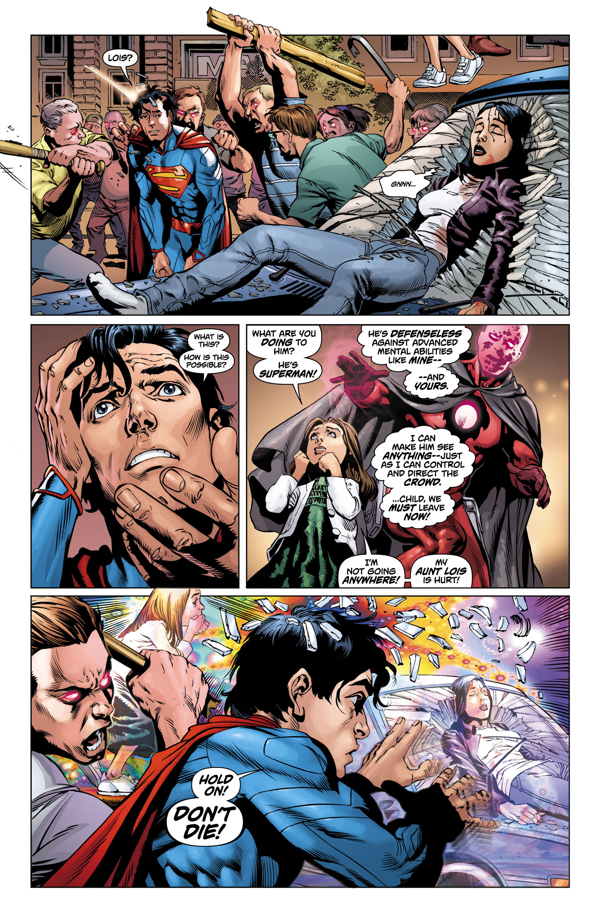Read online Action Comics (2011) comic -  Issue #12 - 5
