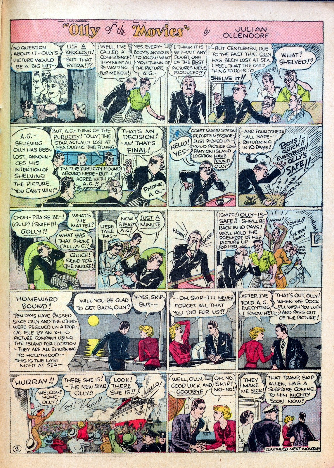 Read online Famous Funnies comic -  Issue #30 - 45